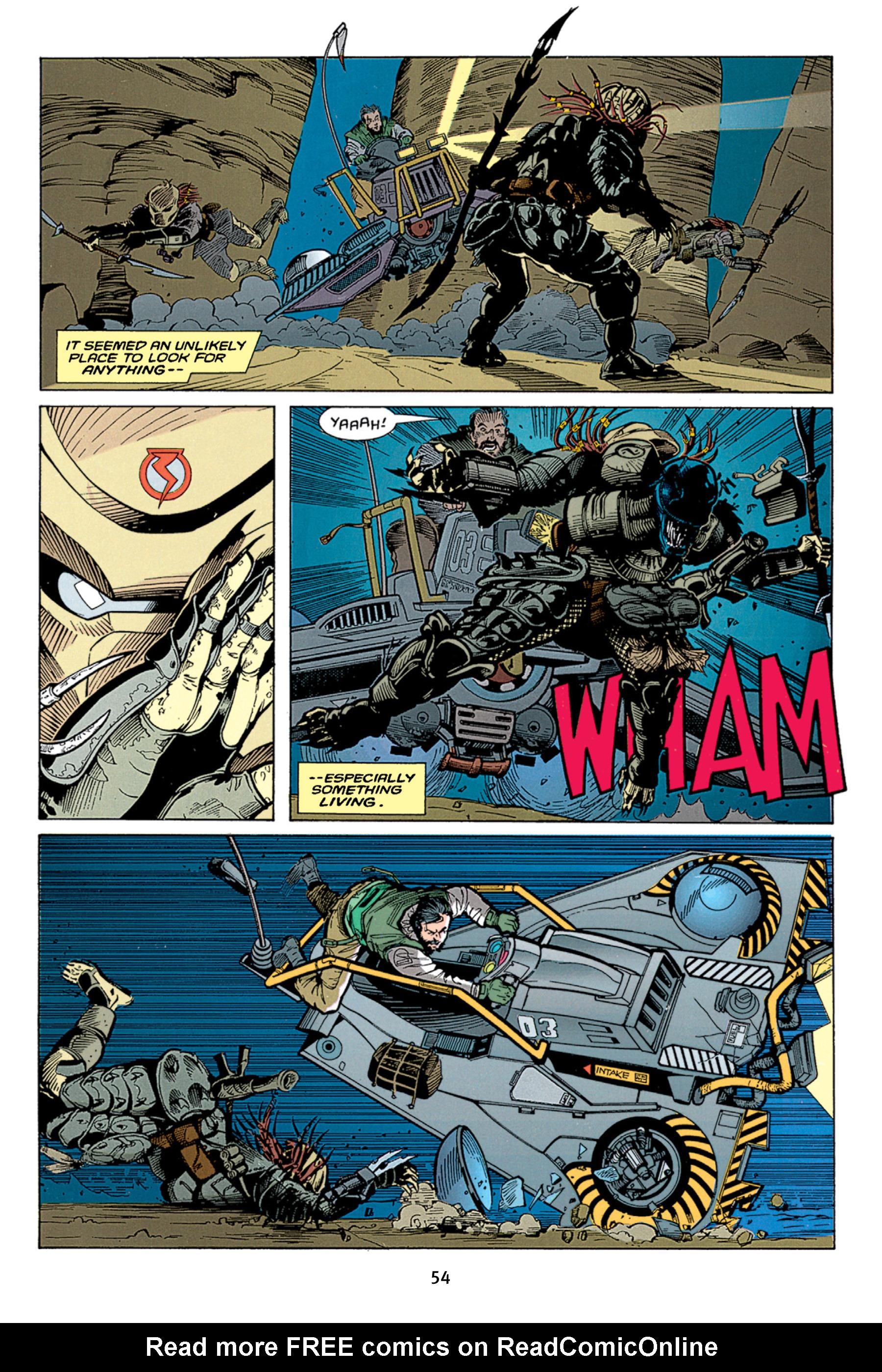 Read online Aliens vs. Predator Omnibus comic -  Issue # _TPB 1 Part 1 - 54