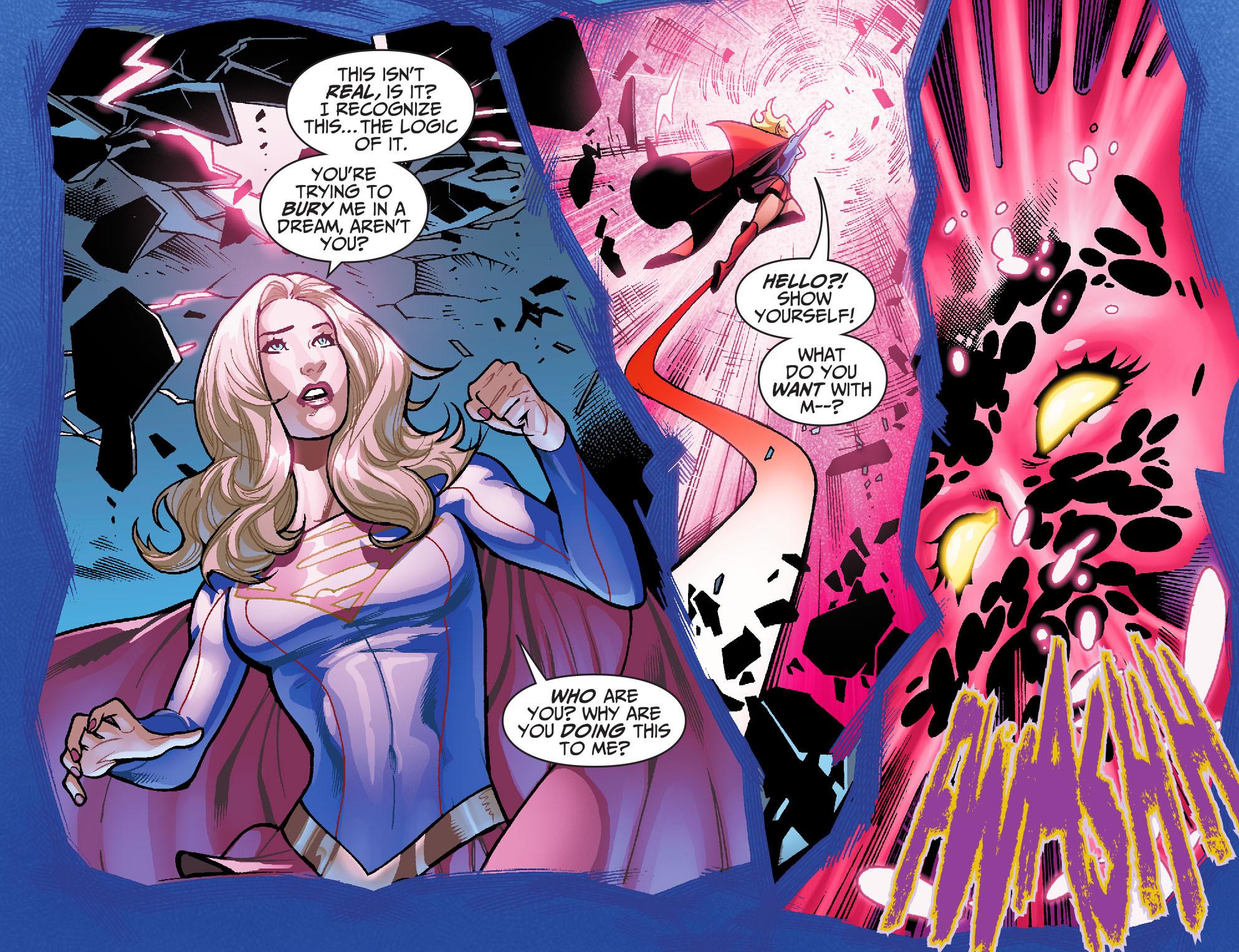 Read online Adventures of Supergirl comic -  Issue #6 - 18