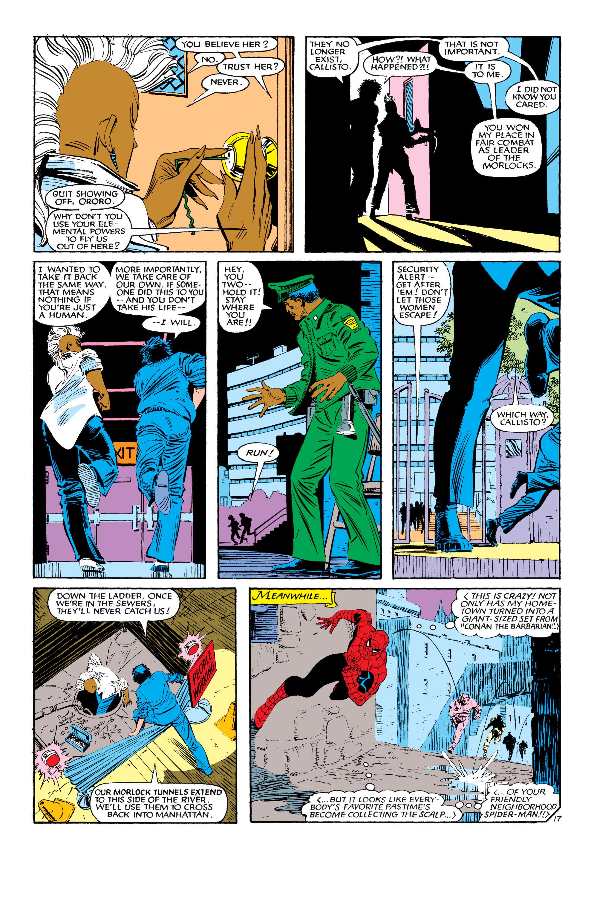 Read online Uncanny X-Men (1963) comic -  Issue #190 - 17