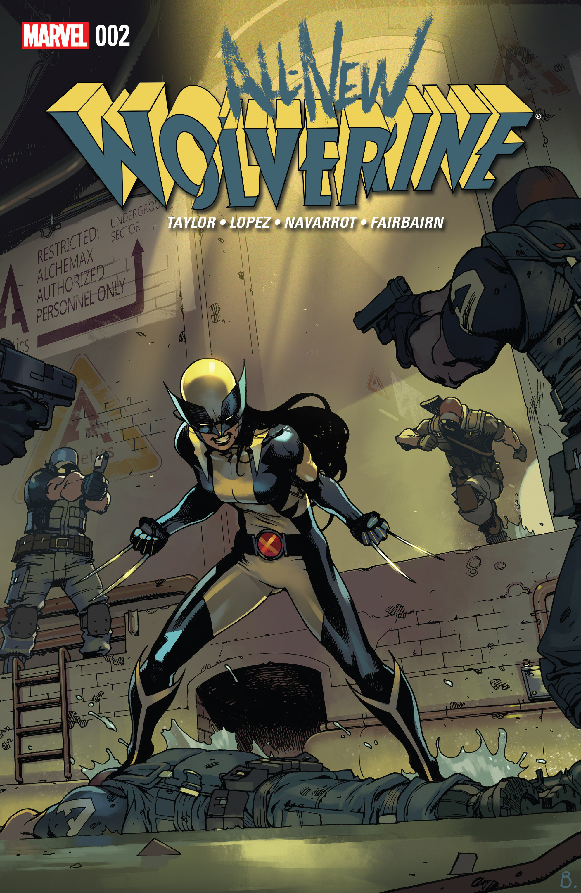 Read online All-New Wolverine (2016) comic -  Issue #2 - 1