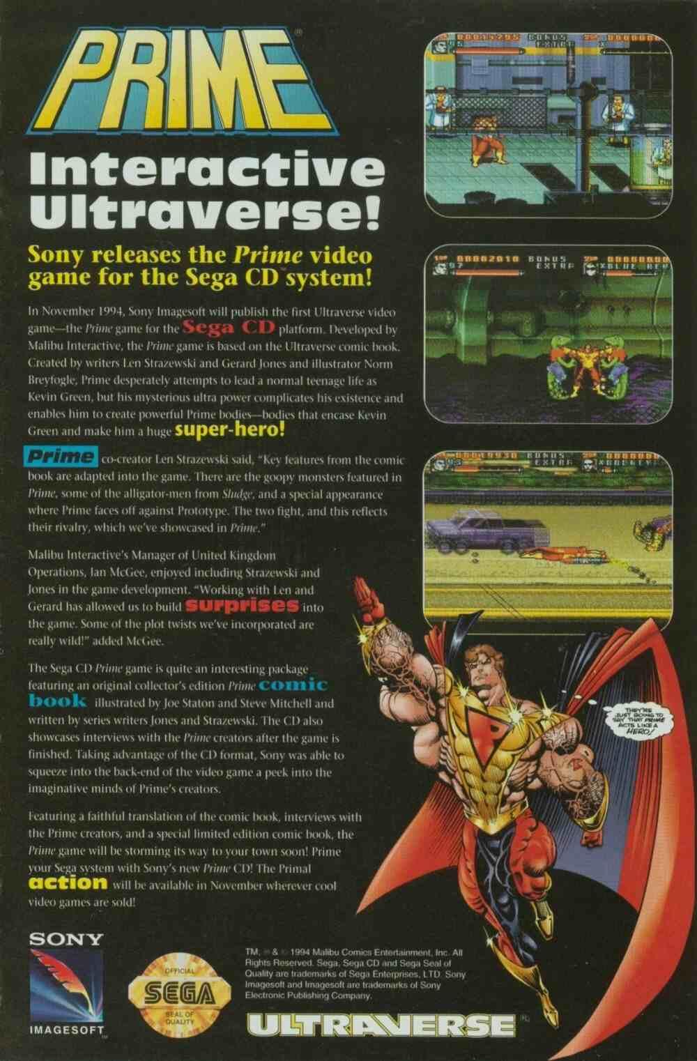 Read online Ultraverse Premiere comic -  Issue #7 - 33