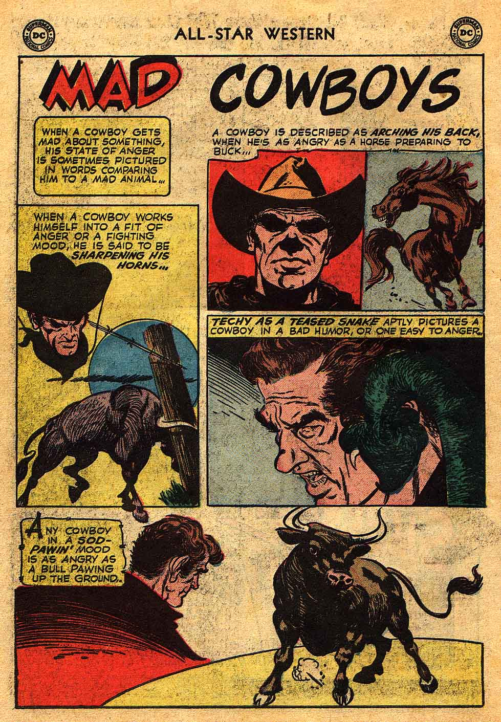 Read online All-Star Western (1951) comic -  Issue #70 - 34