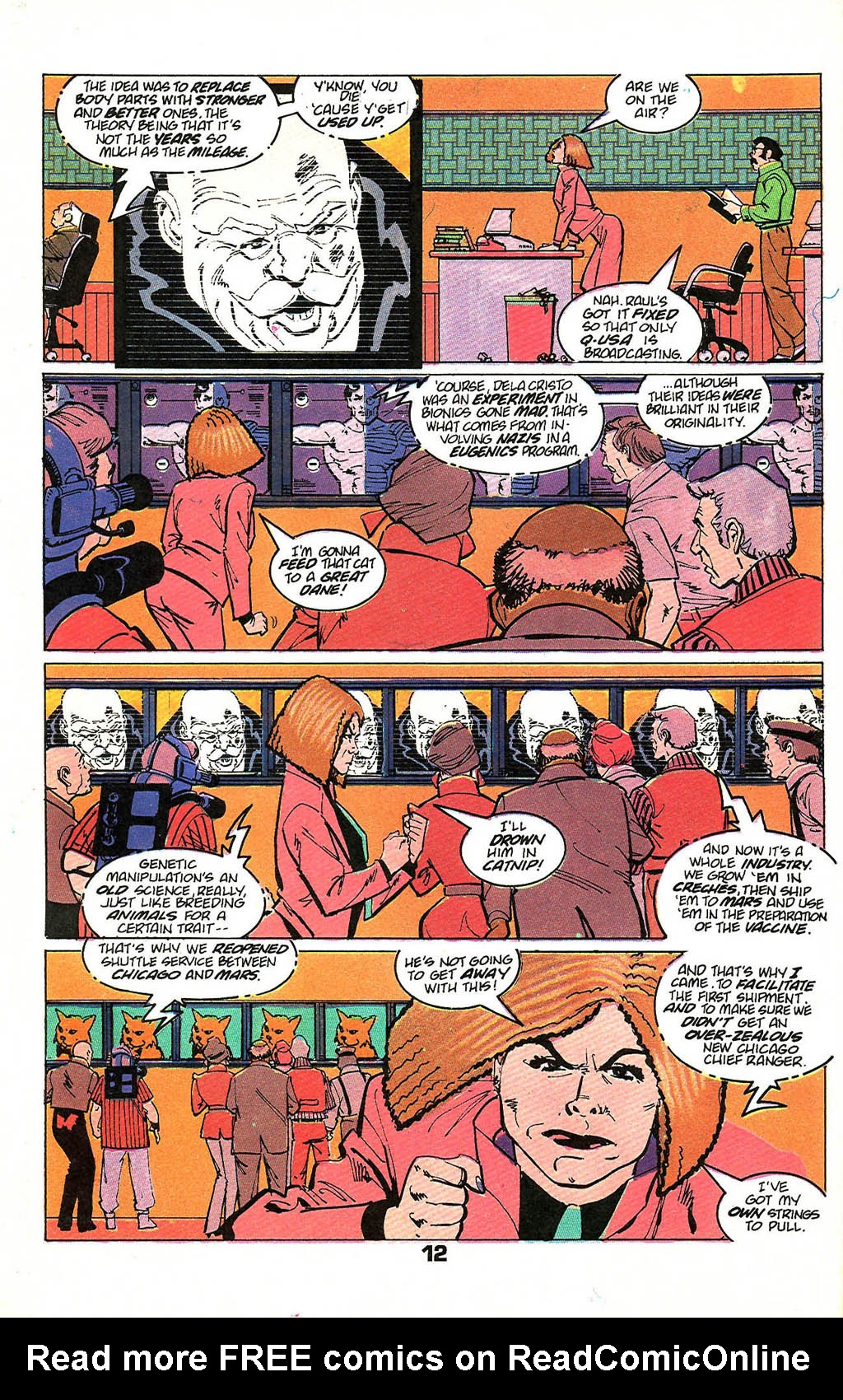 Read online American Flagg! comic -  Issue #49 - 16