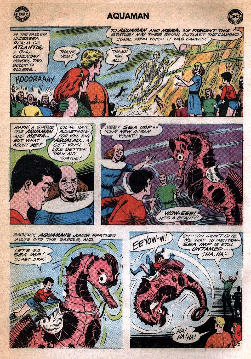 Read online Aquaman (1962) comic -  Issue #20 - 4