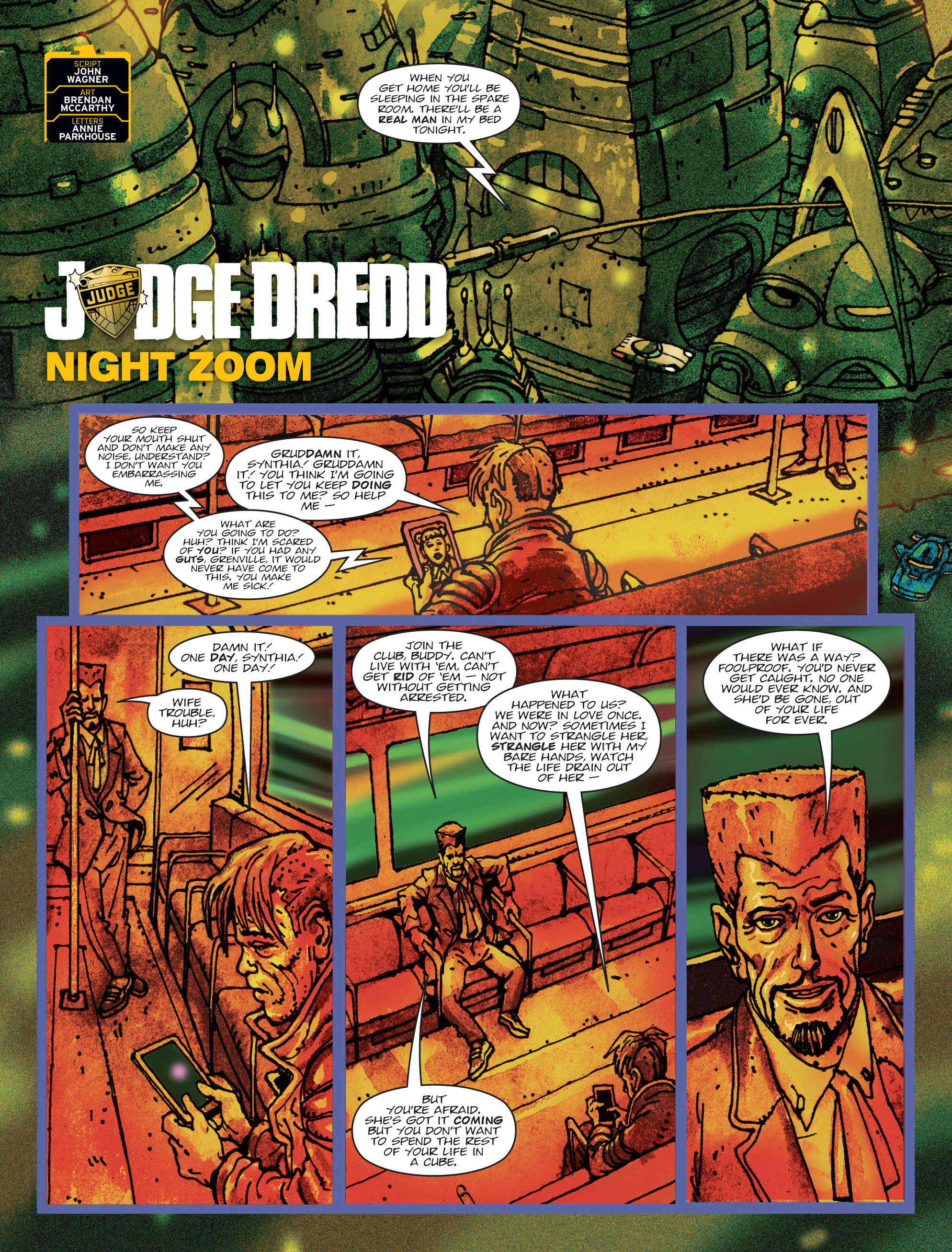 Read online 2000 AD comic -  Issue #2000 AD _Sci-Fi Special 2016 - 3