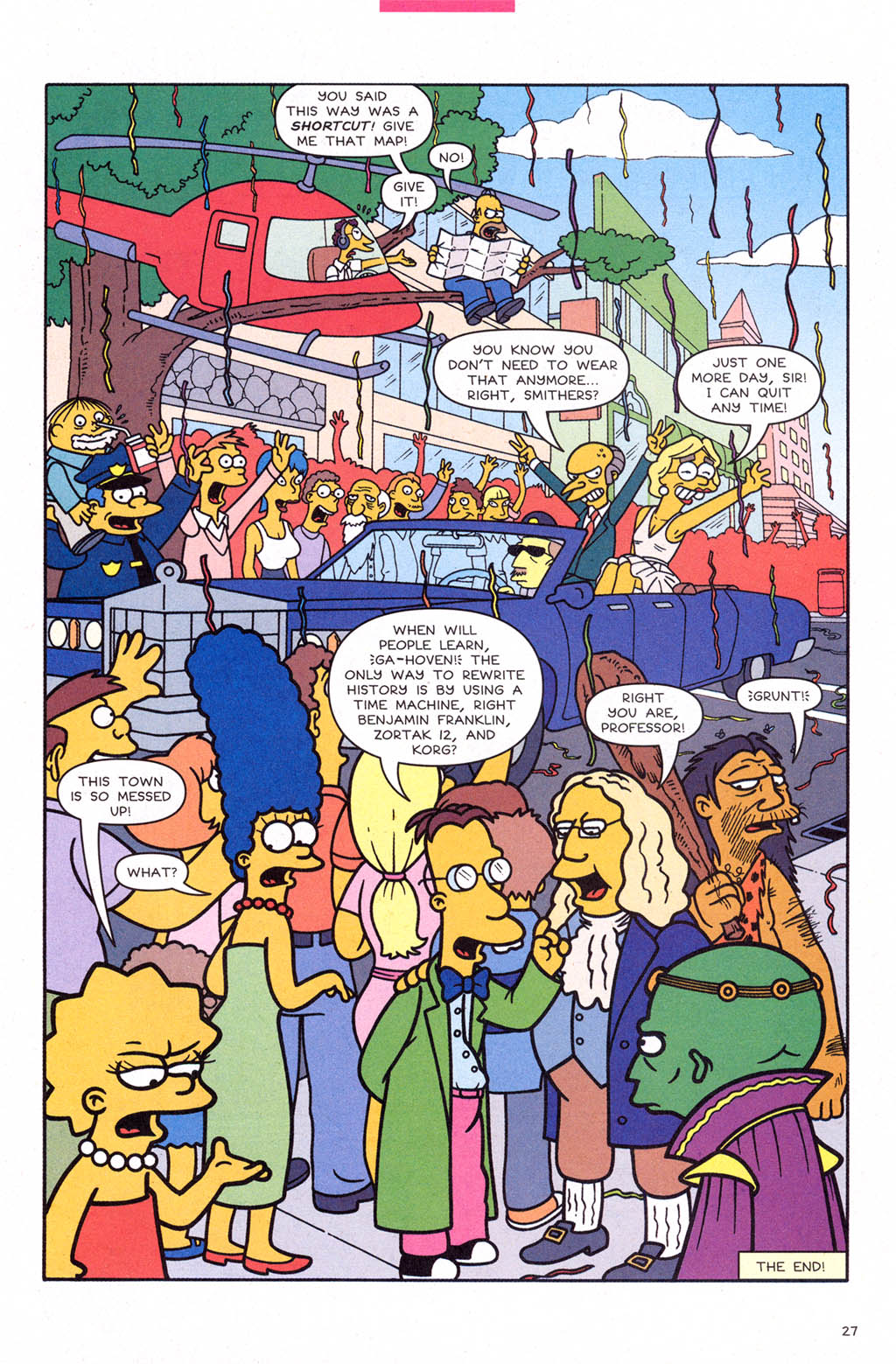 Read online Simpsons Comics comic -  Issue #109 - 28