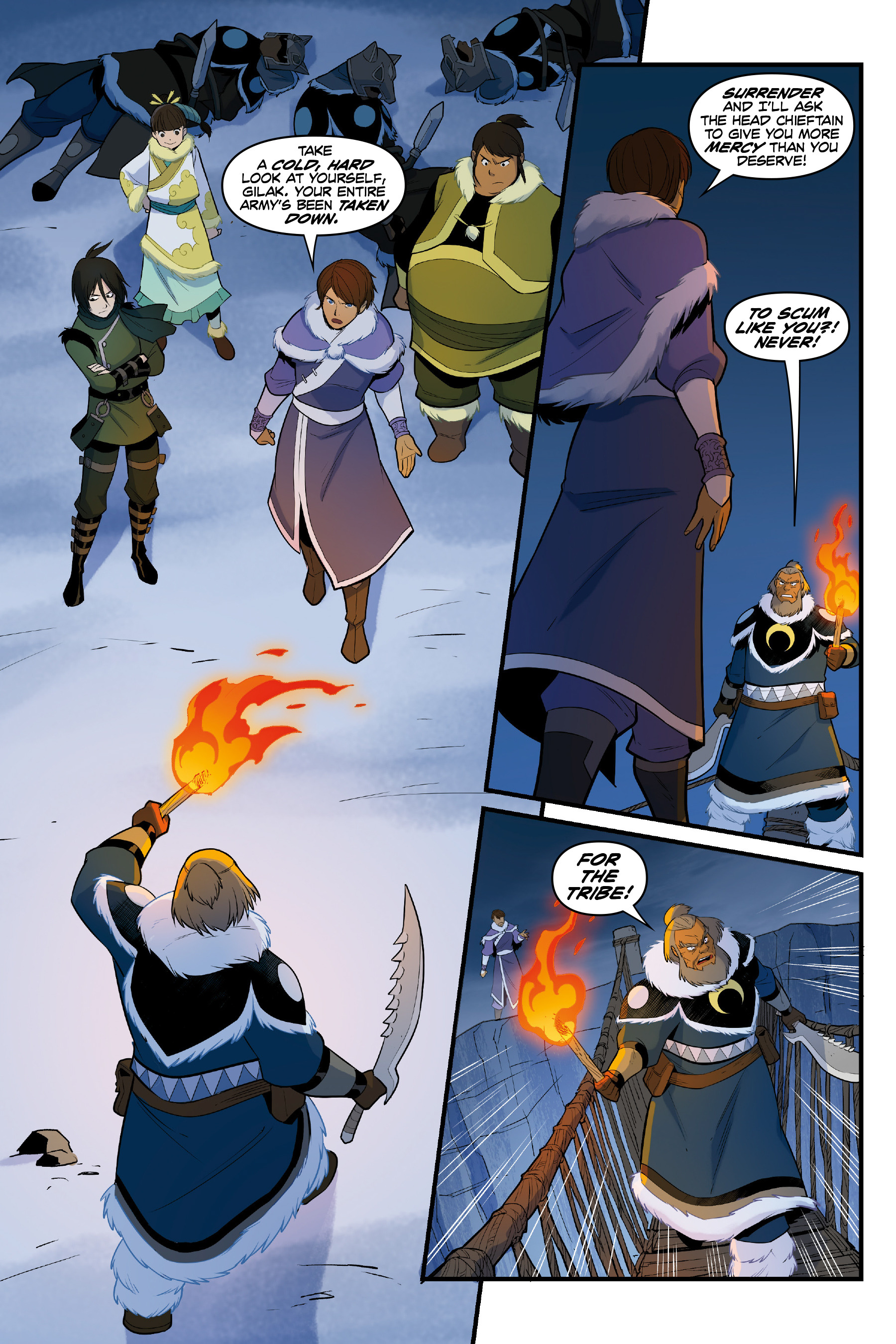 Read online Nickelodeon Avatar: The Last Airbender - North and South comic -  Issue #3 - 57