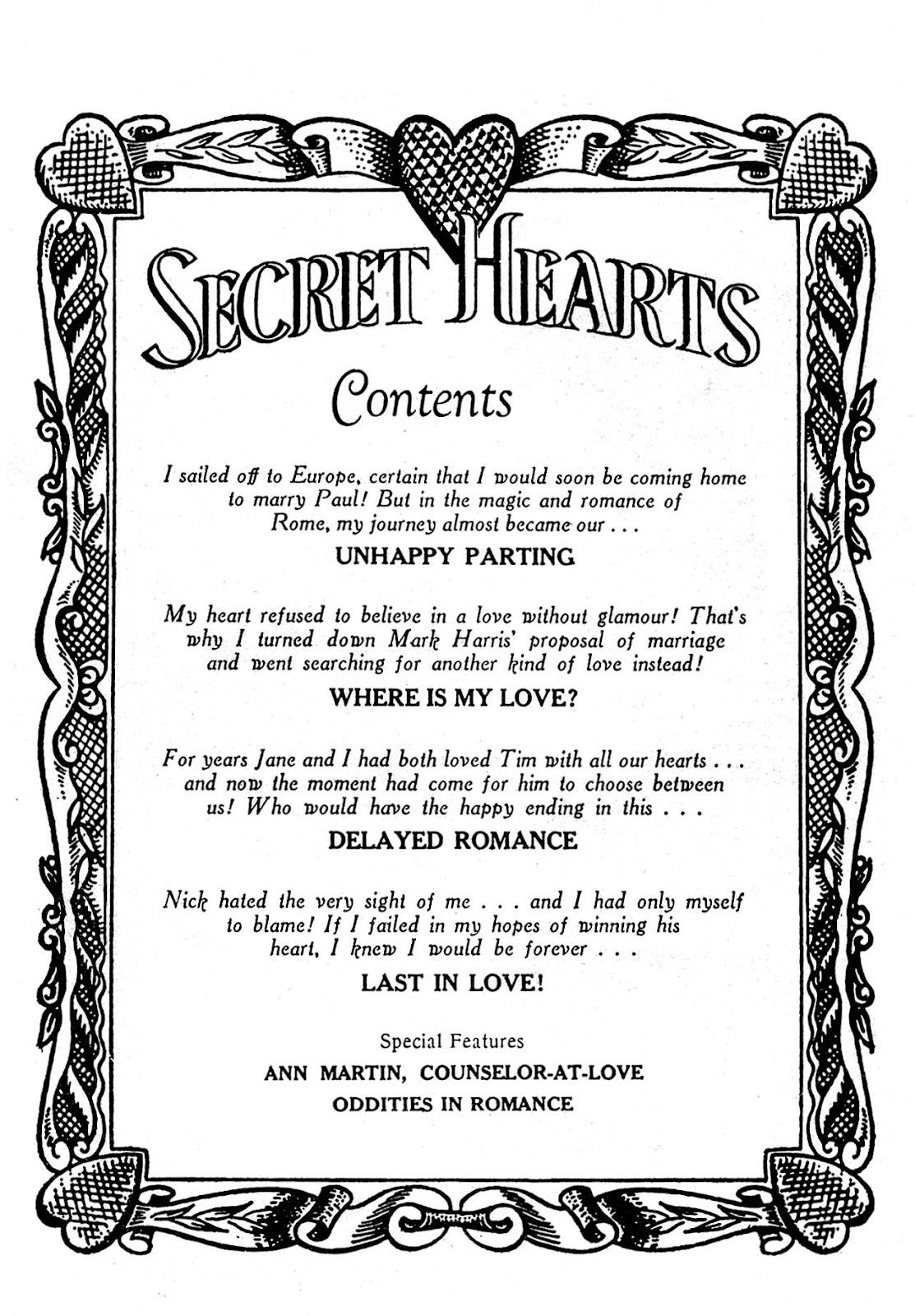 Secret Hearts 32 Page 2