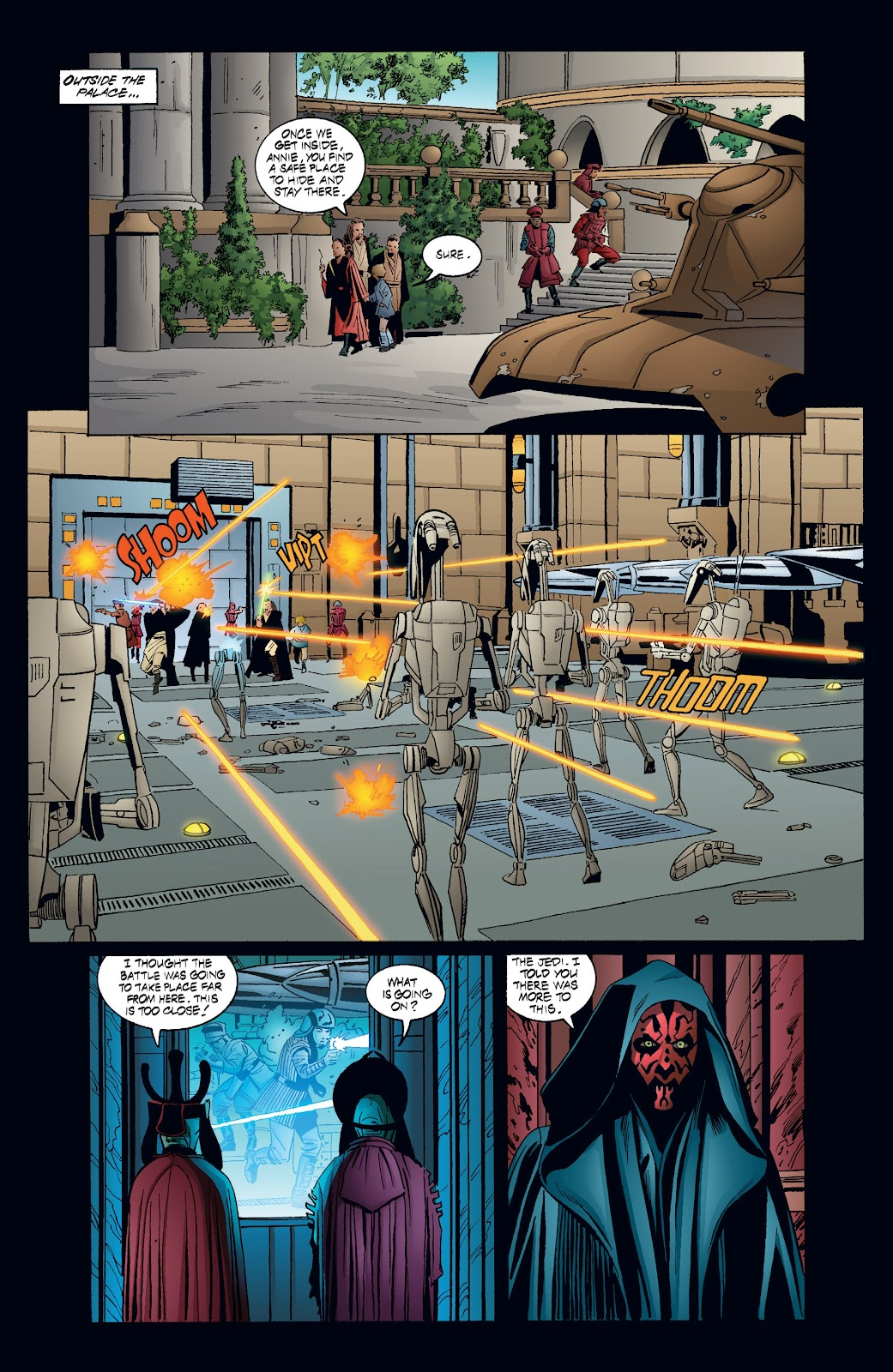 Read online Star Wars Legends: Rise of the Sith - Epic Collection comic -  Issue # TPB 2 (Part 4) - 17