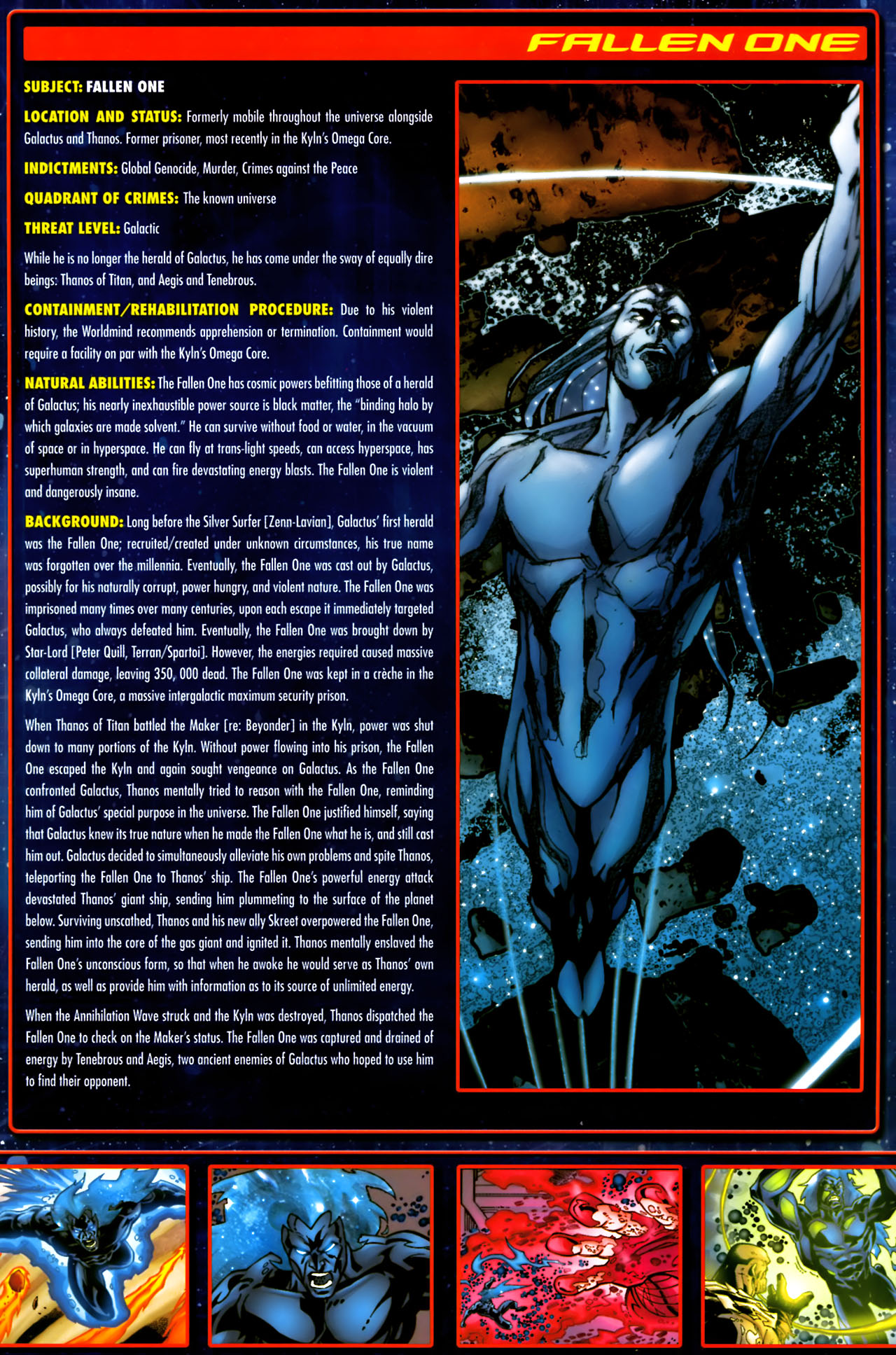 Read online Annihilation:  The  Nova Corps Files comic -  Issue #Annihilation:  The  Nova Corps Files Full - 13