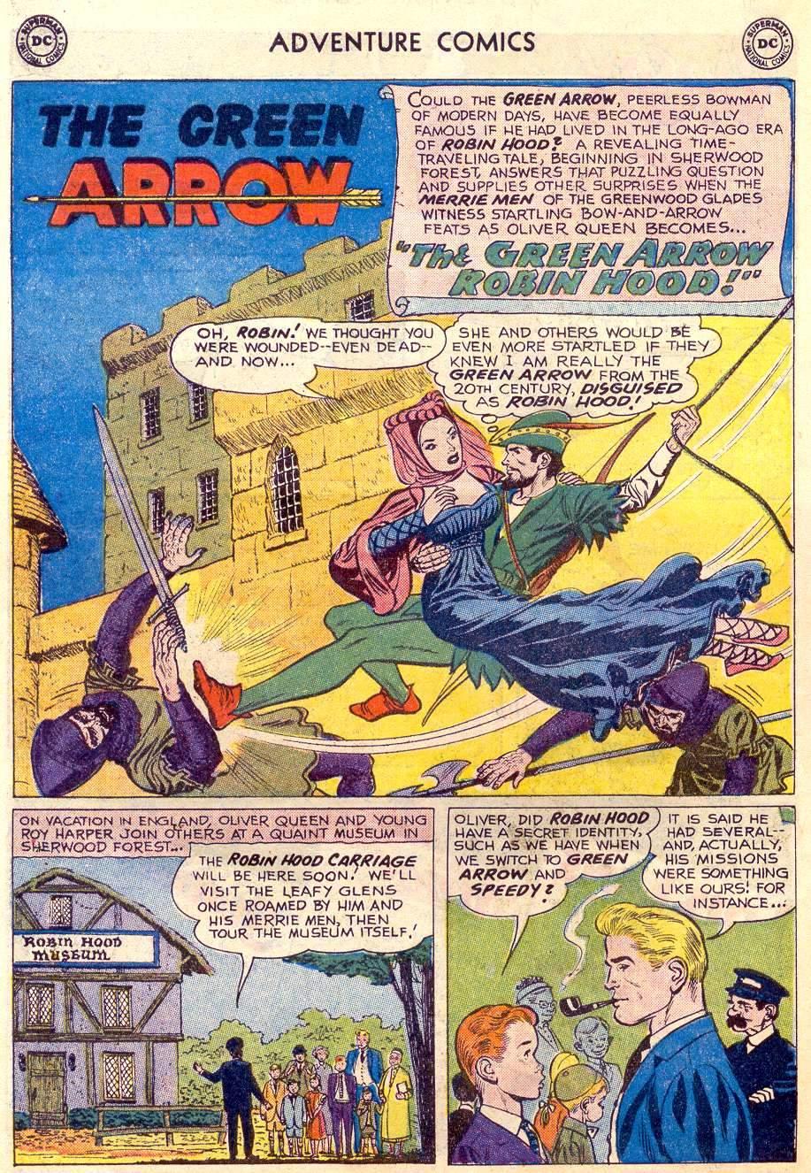 Read online Adventure Comics (1938) comic -  Issue #264 - 26