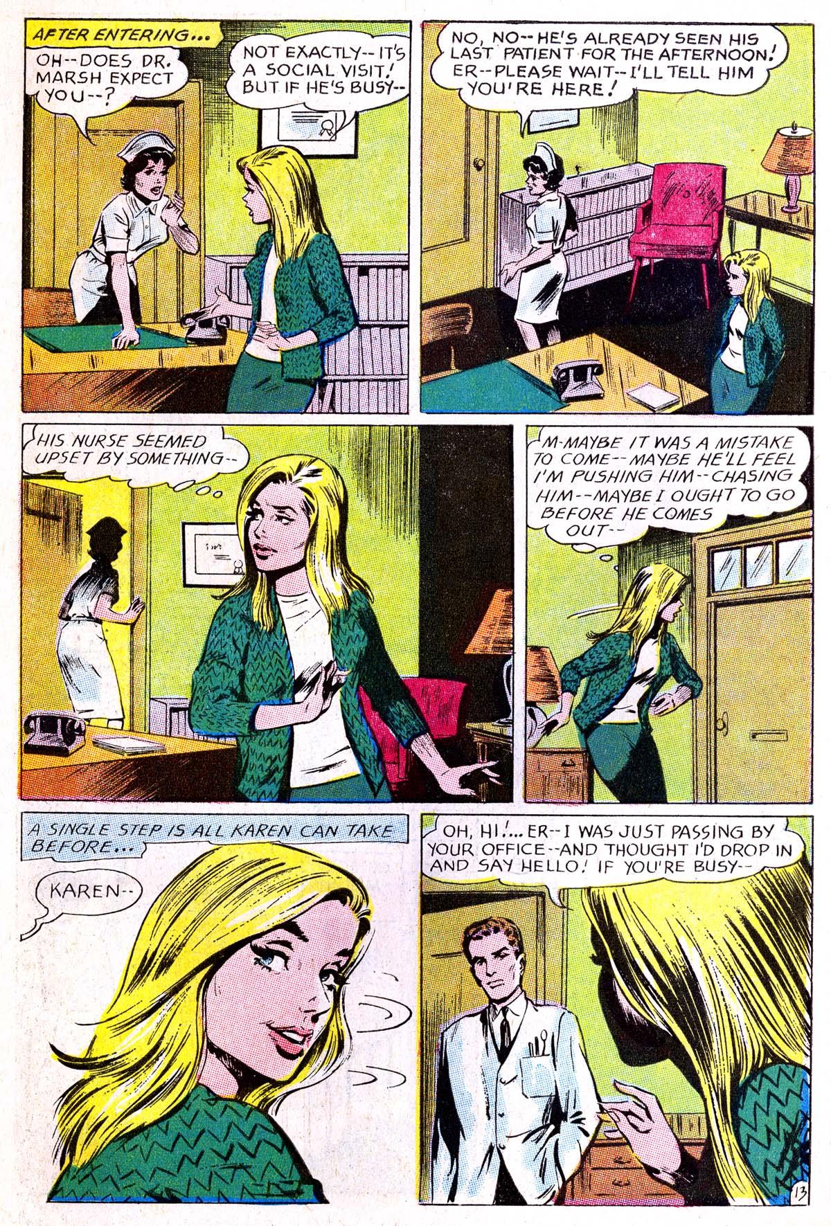 Read online Secret Hearts comic -  Issue #114 - 30