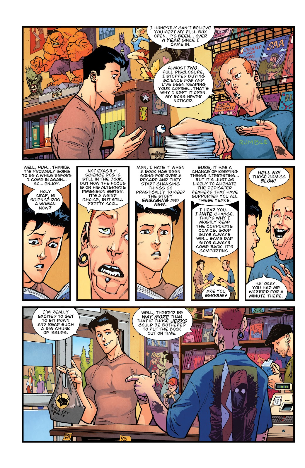 Invincible (2003) issue TPB 21 - Modern Family - Page 46