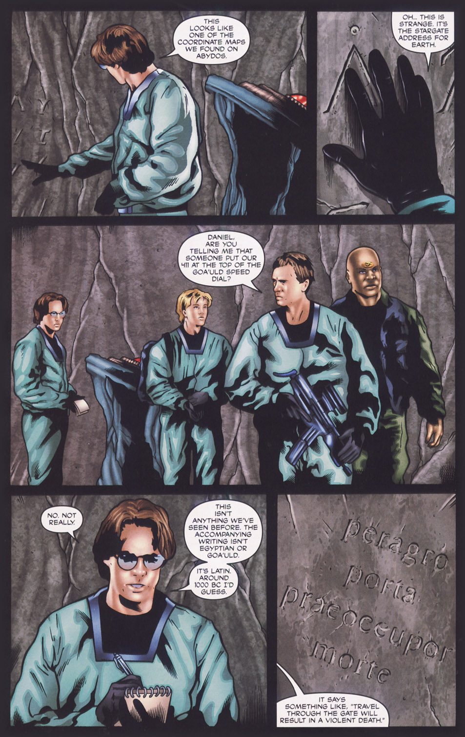 Read online Stargate SG-1: Fall of Rome comic -  Issue #1 - 15