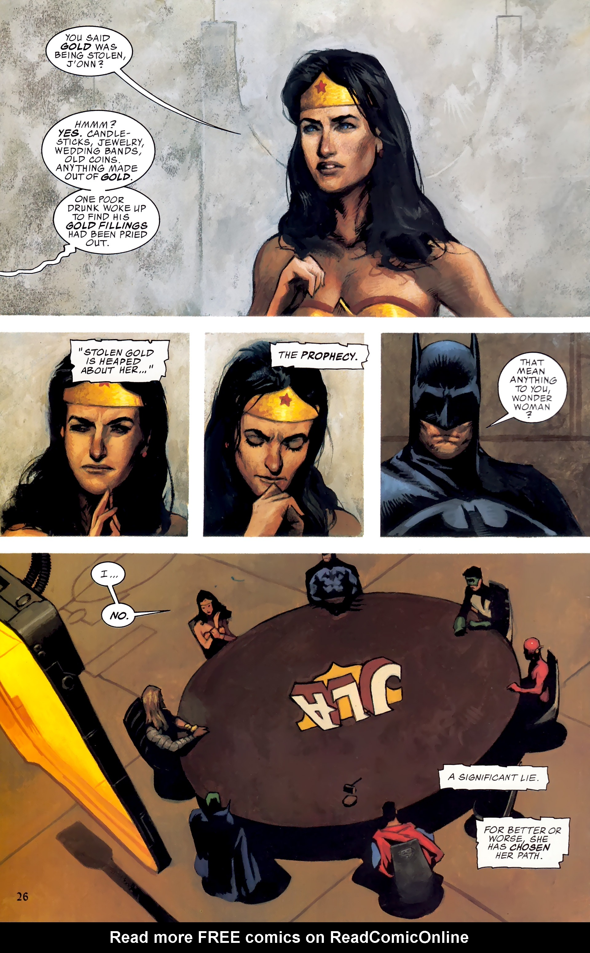 Read online JLA: A League of One comic -  Issue # Full - 33