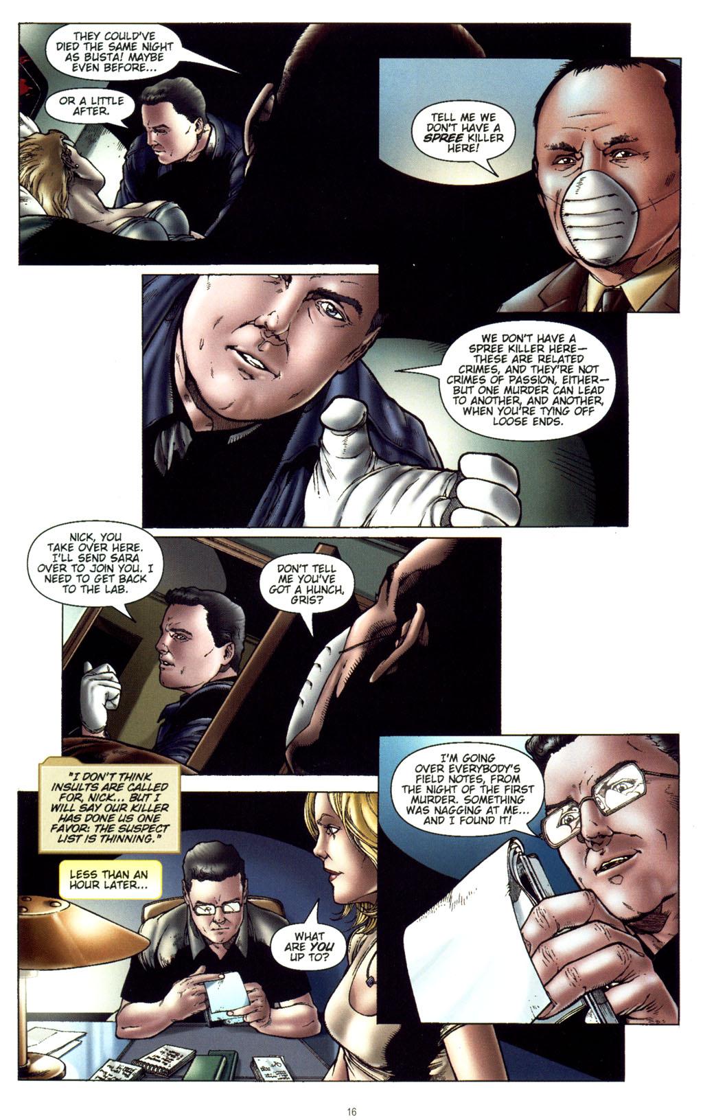 Read online CSI: Crime Scene Investigation: Bad Rap comic -  Issue #5 - 19