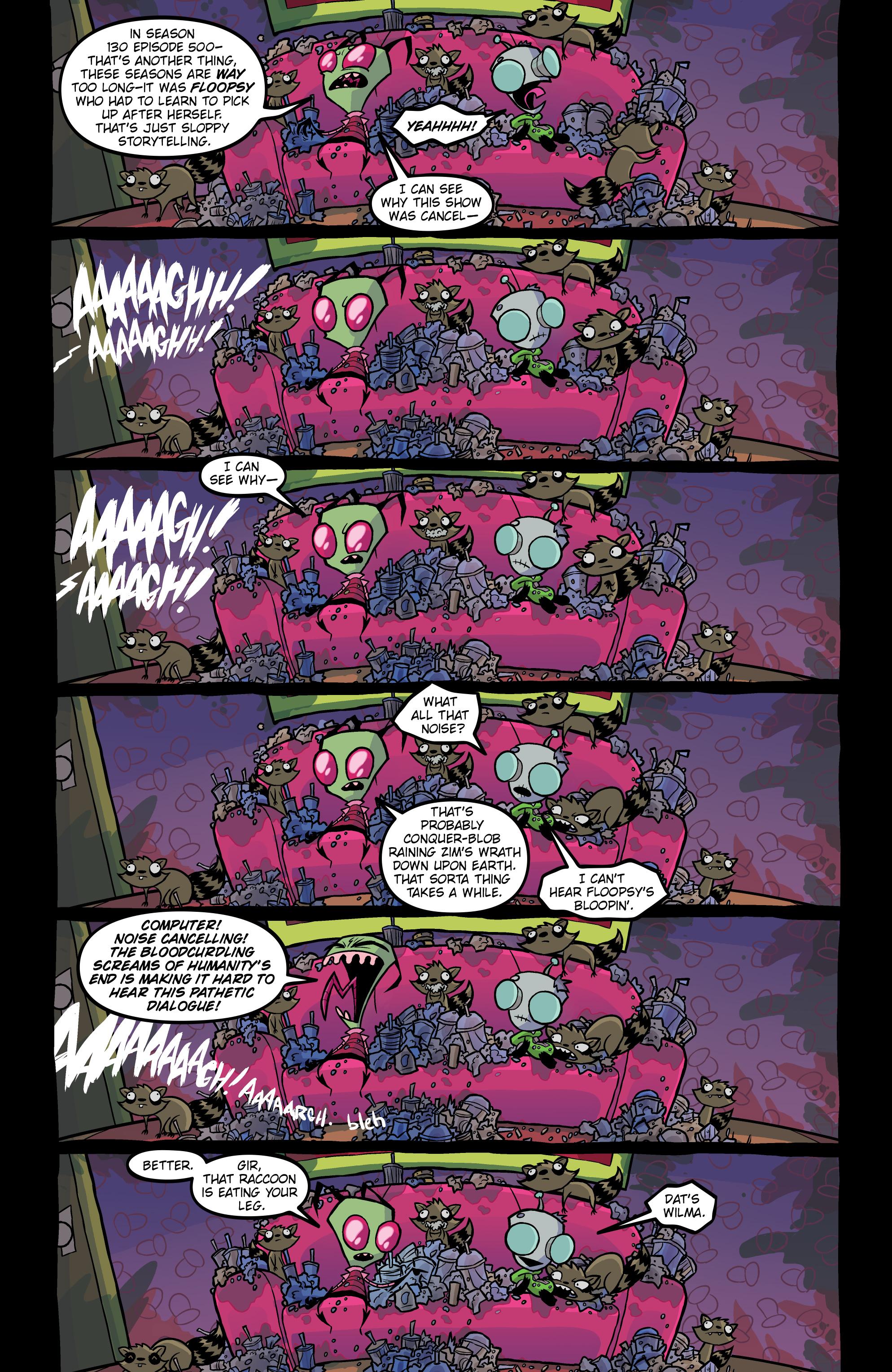 Read online Invader Zim comic -  Issue #20 - 13