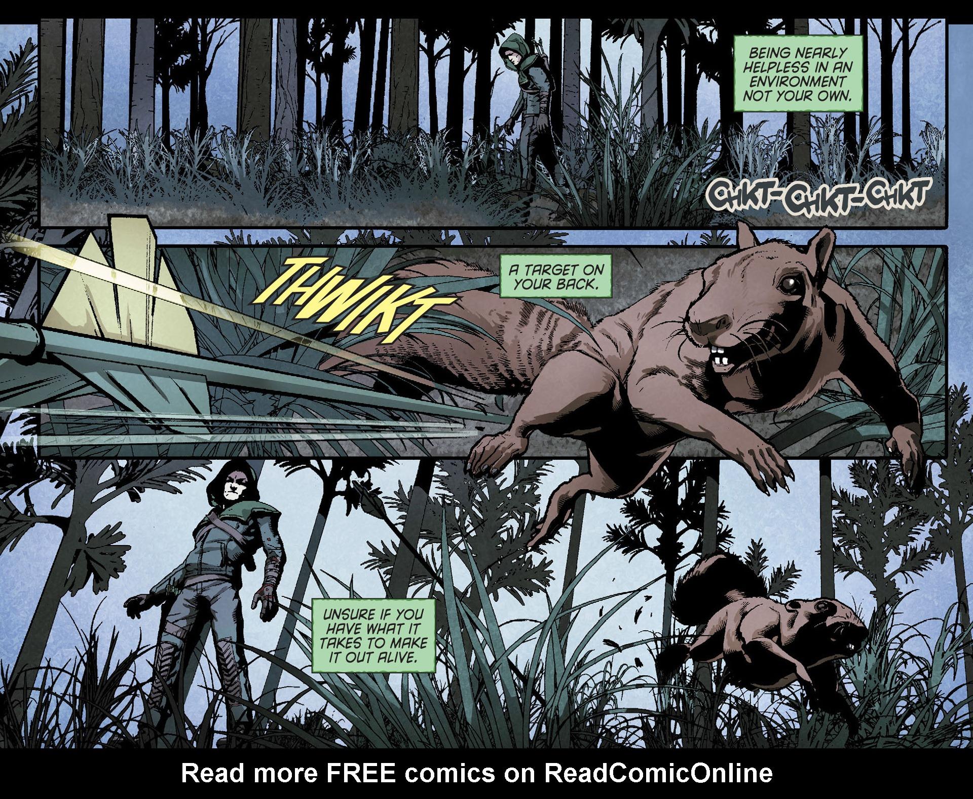 Read online Arrow [II] comic -  Issue #23 - 18