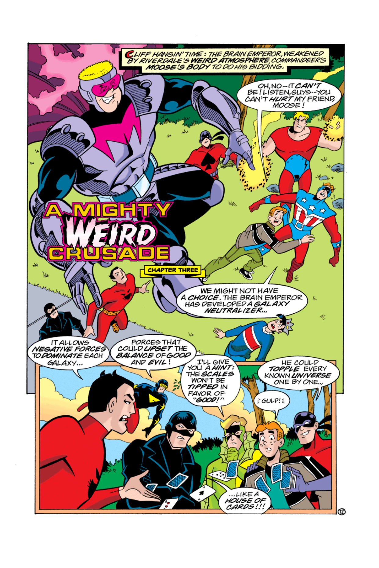 Read online Archie's Weird Mysteries comic -  Issue #3 - 13