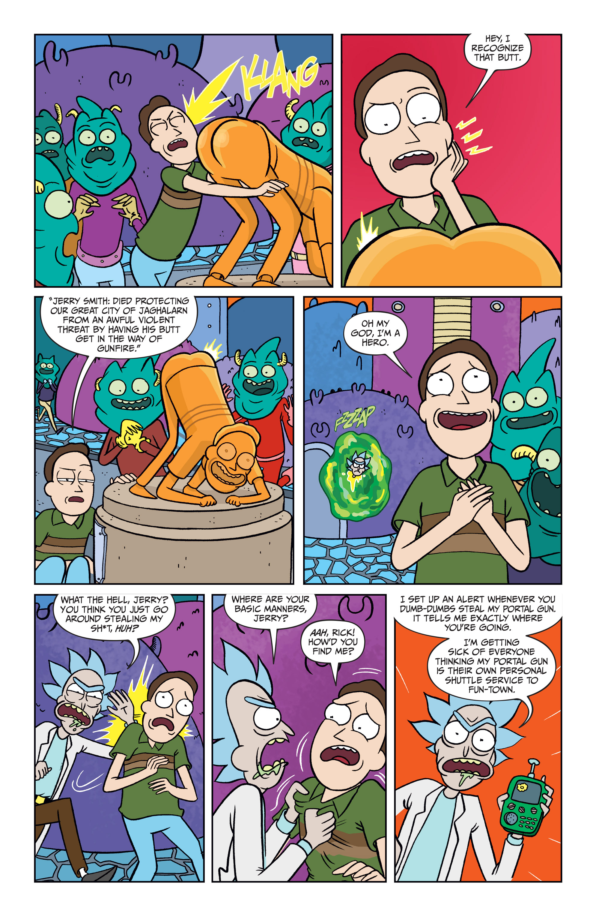Read online Rick and Morty comic -  Issue #25 - 22