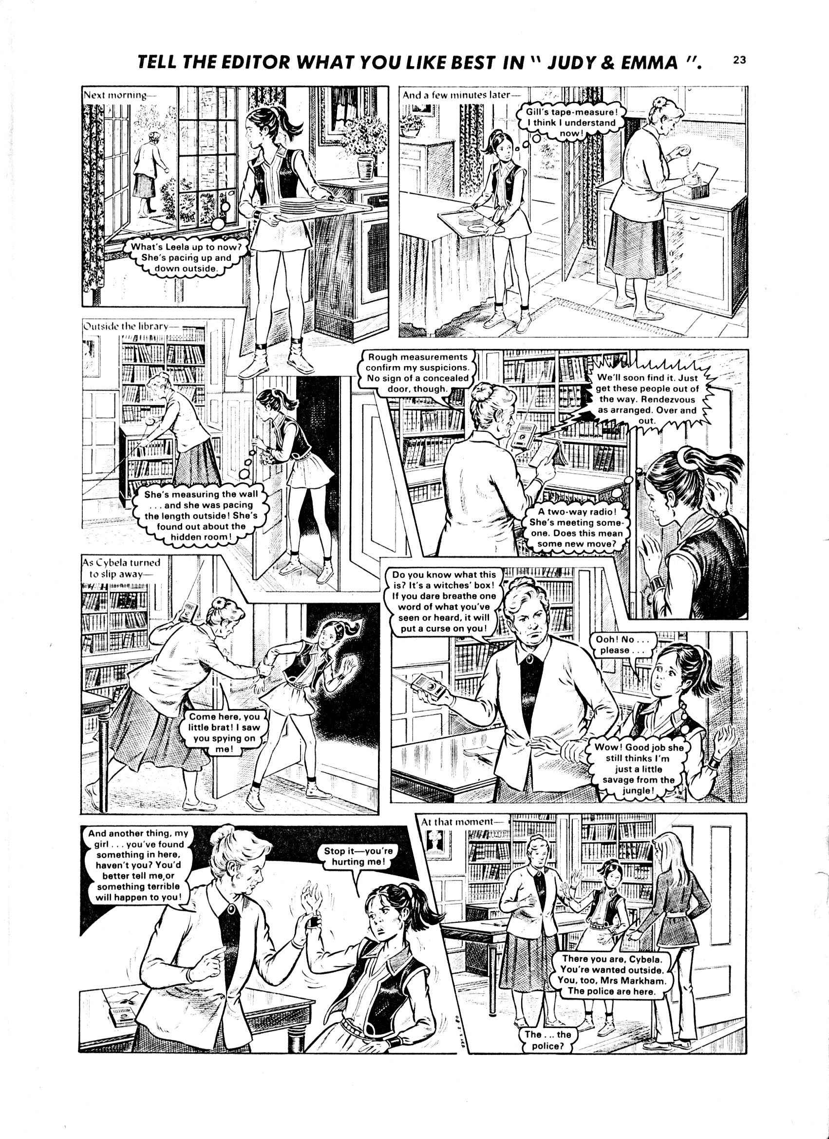 Read online Judy comic -  Issue #1047 - 19