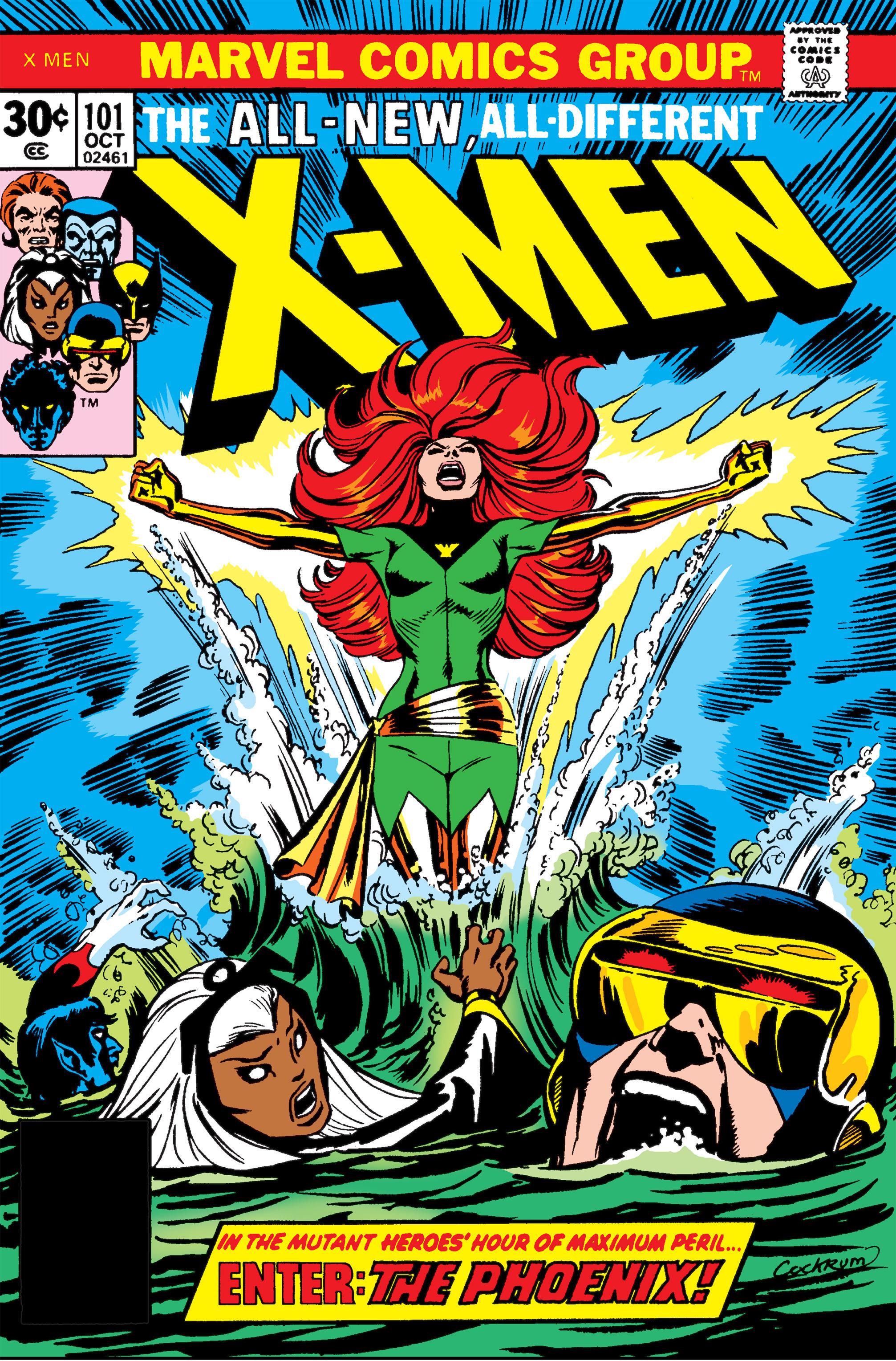 Uncanny X-Men (1963) 101 Page 1