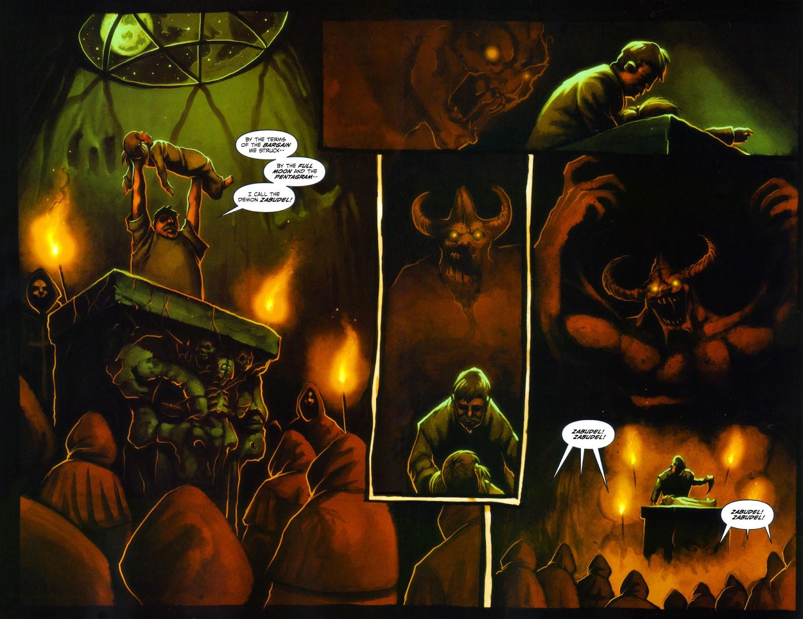 Read online Evil Ernie in Santa Fe comic -  Issue #4 - 4