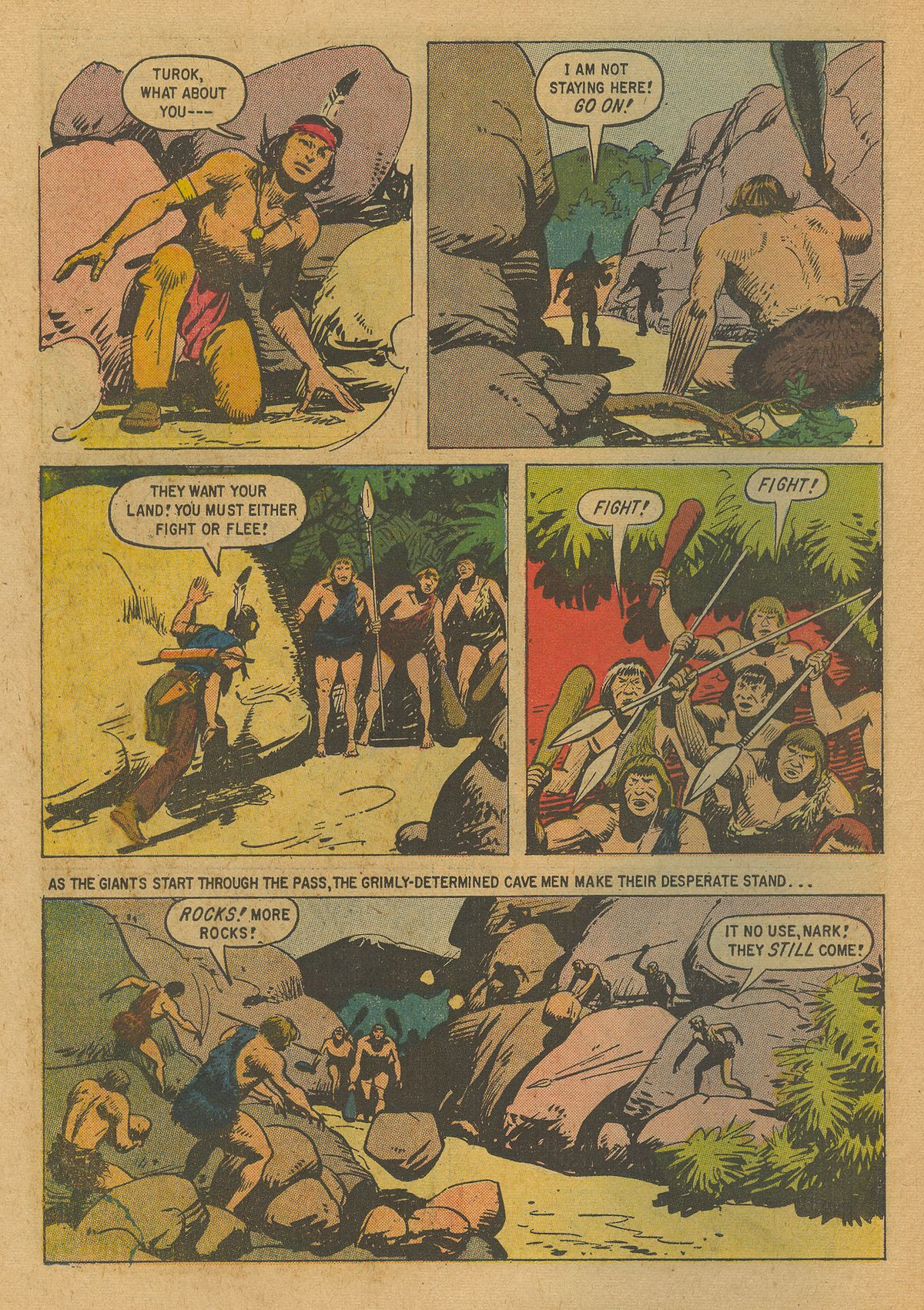 Read online Turok, Son of Stone comic -  Issue #19 - 26