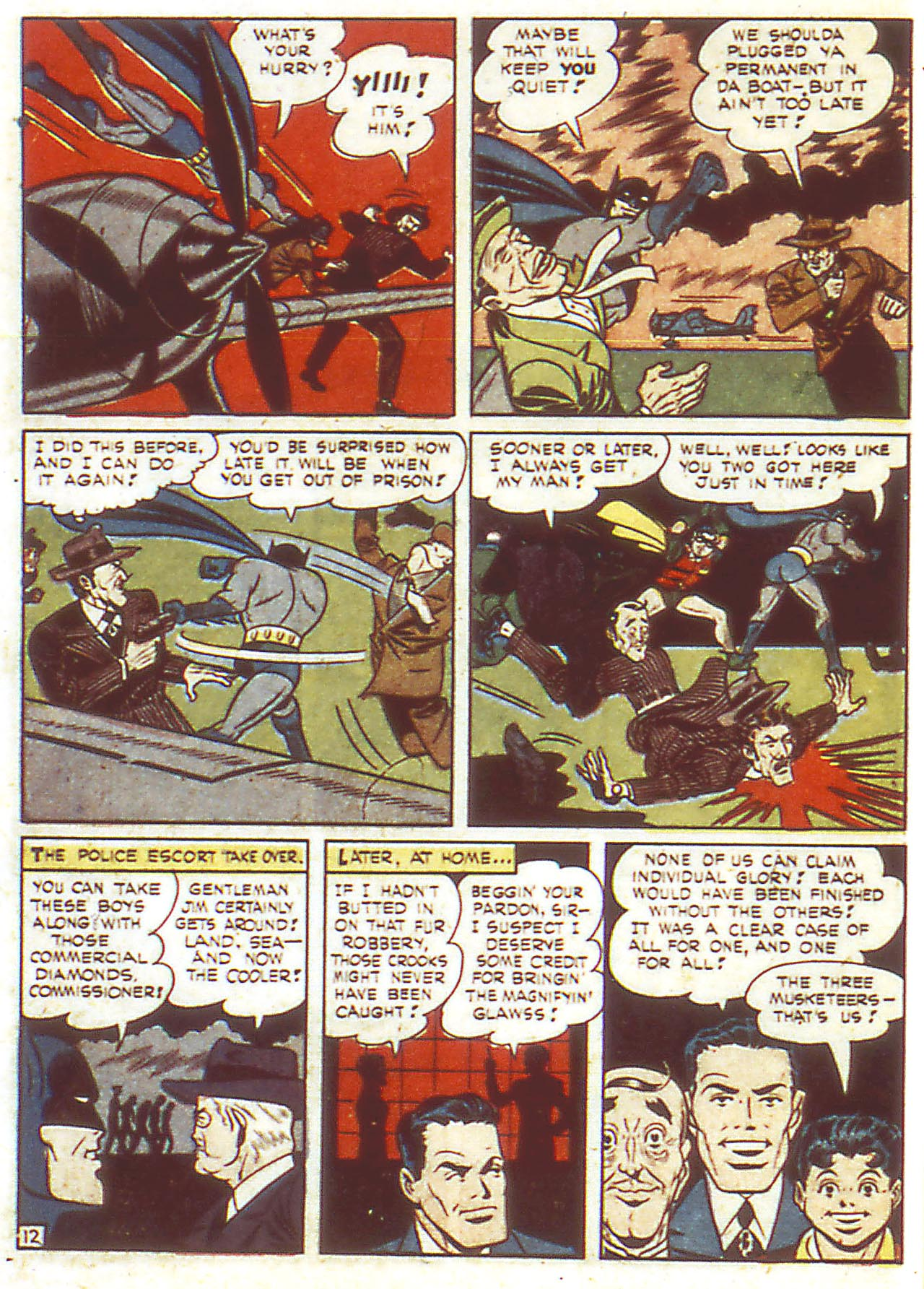 Read online Detective Comics (1937) comic -  Issue #86 - 14