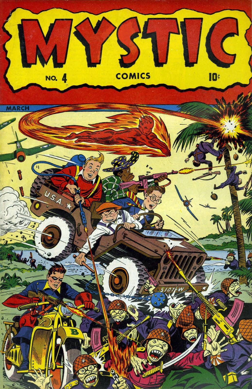 Read online Mystic Comics (1944) comic -  Issue #4 - 1