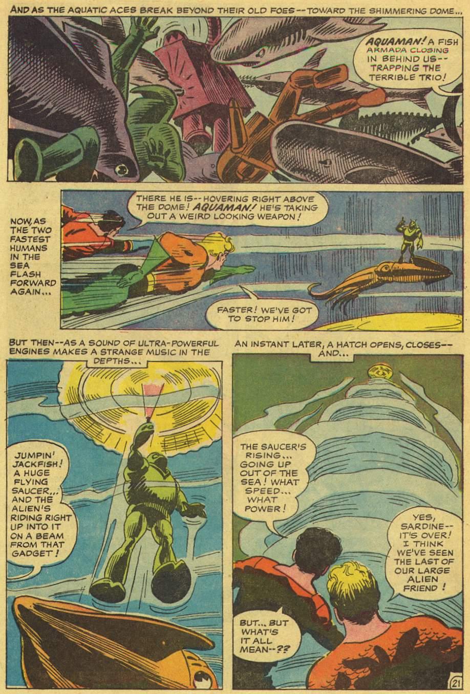 Read online Aquaman (1962) comic -  Issue #36 - 31