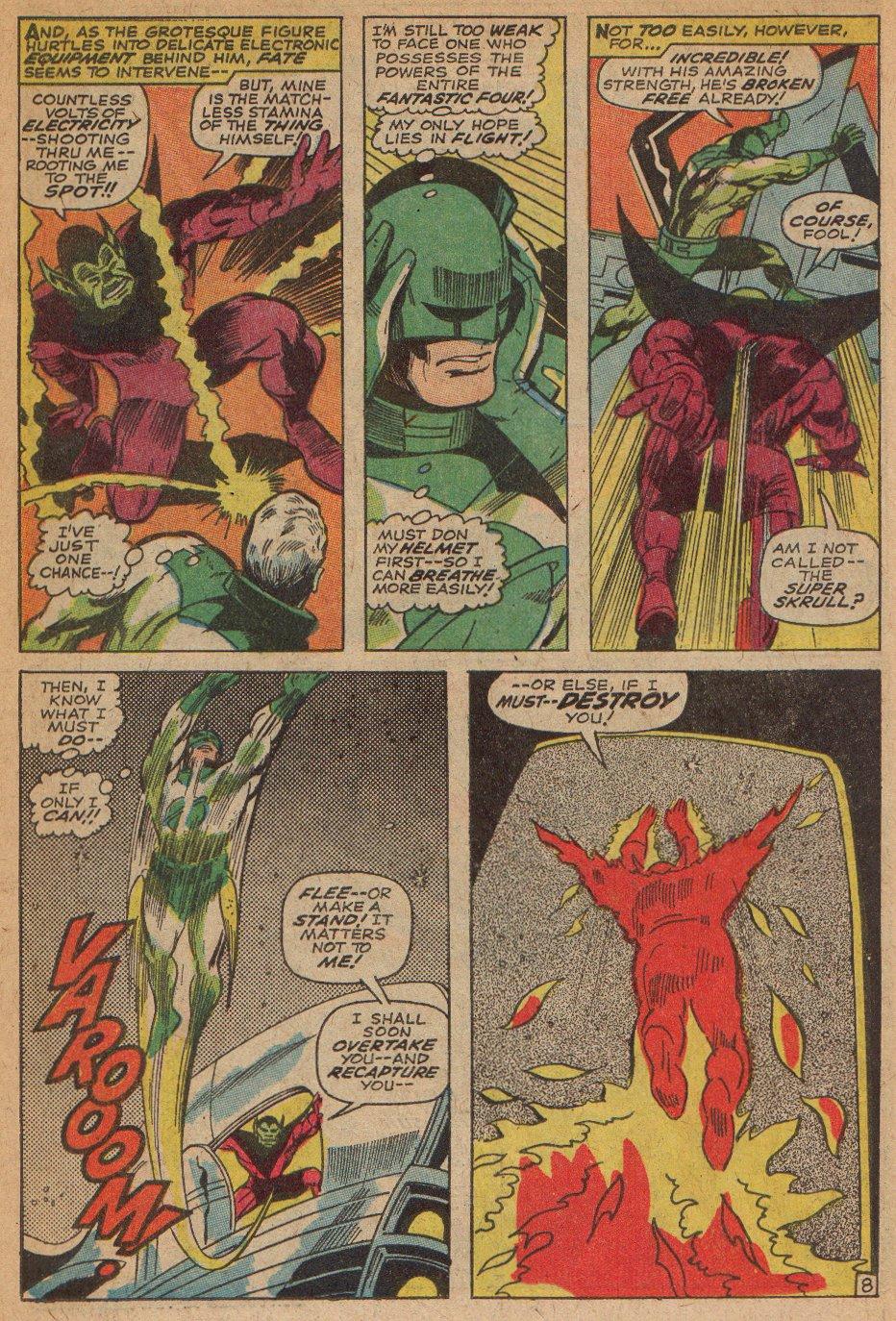 Captain Marvel (1968) Issue #3 #3 - English 9