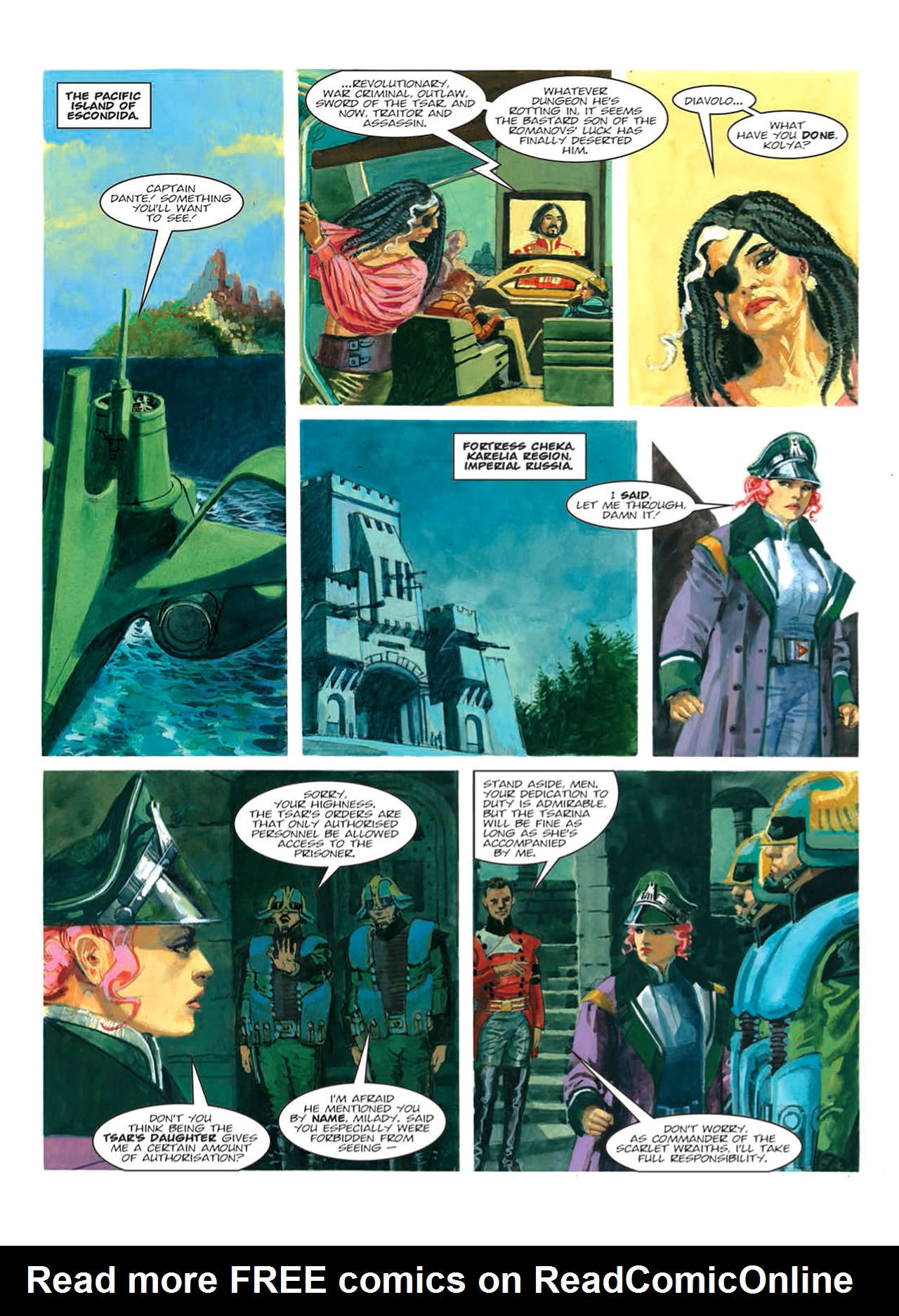 Read online Nikolai Dante comic -  Issue # TPB 9 - 75
