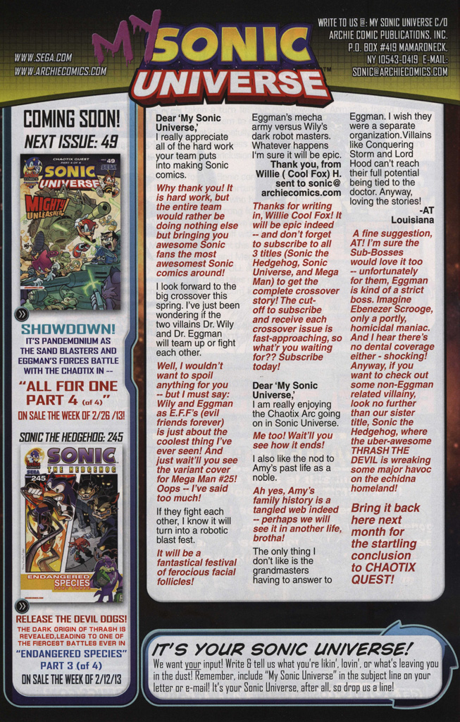 Read online Sonic Universe comic -  Issue #48 - 34