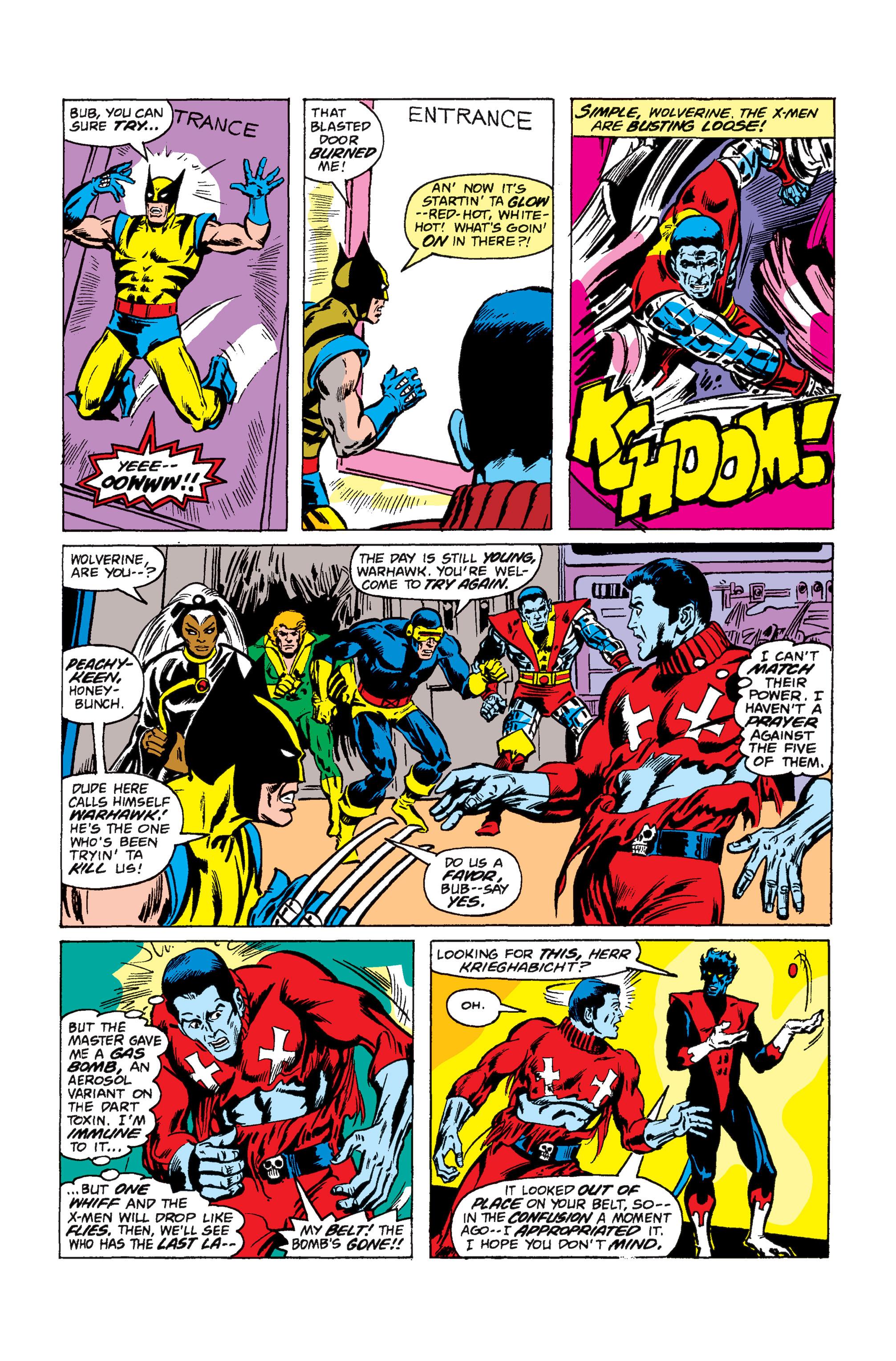 Read online Uncanny X-Men (1963) comic -  Issue #110 - 16