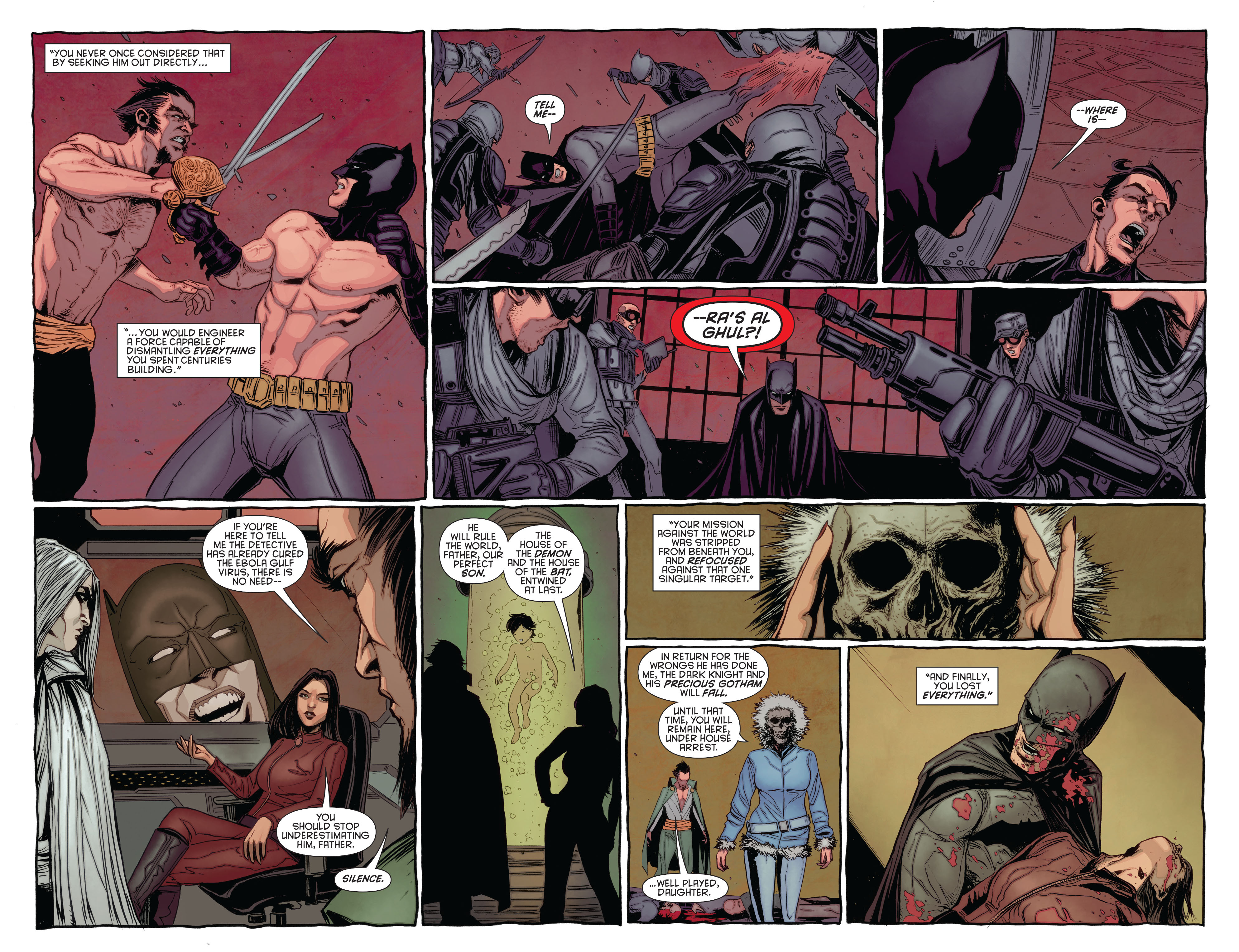 Read online Batman and Robin (2011) comic -  Issue #23.3 - 13