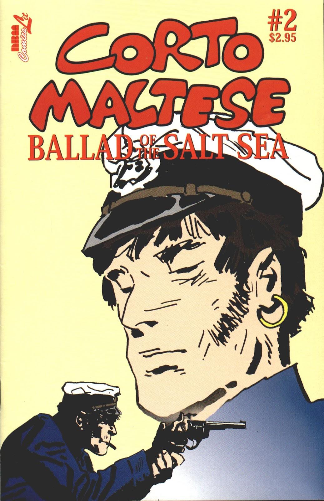 Corto Maltese: Ballad of the Salt Sea issue 2 - Page 1