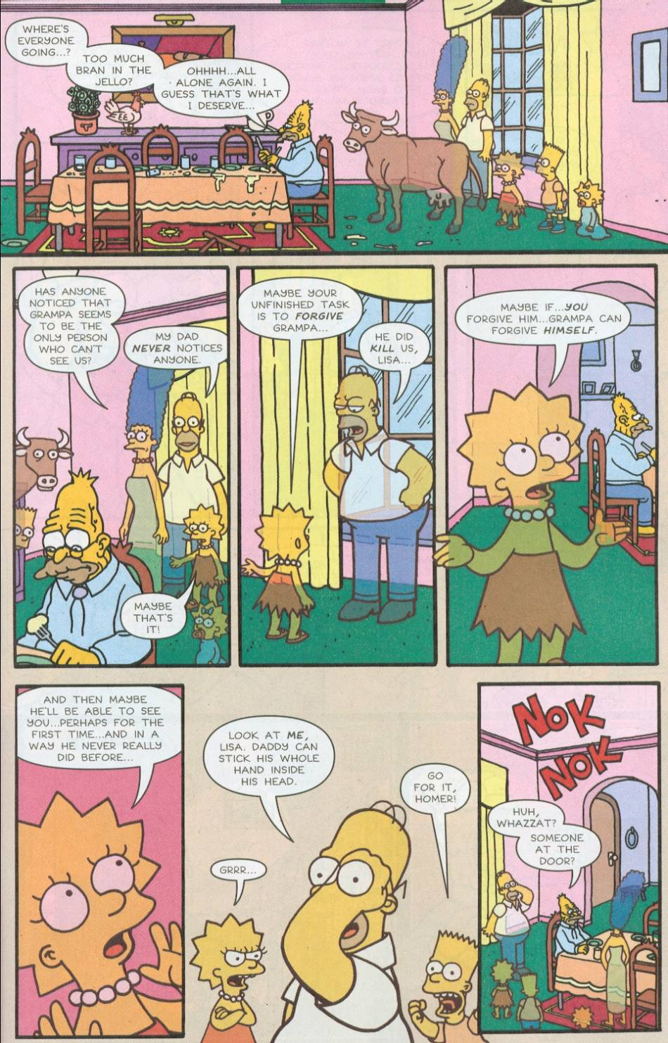 Read online Treehouse of Horror comic -  Issue #8 - 14