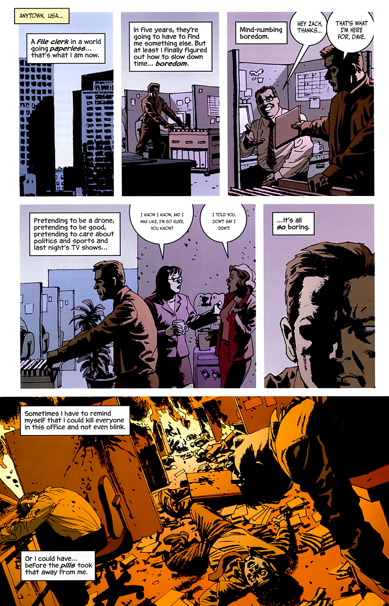 Read online Criminal (2008) comic -  Issue #6 - 31