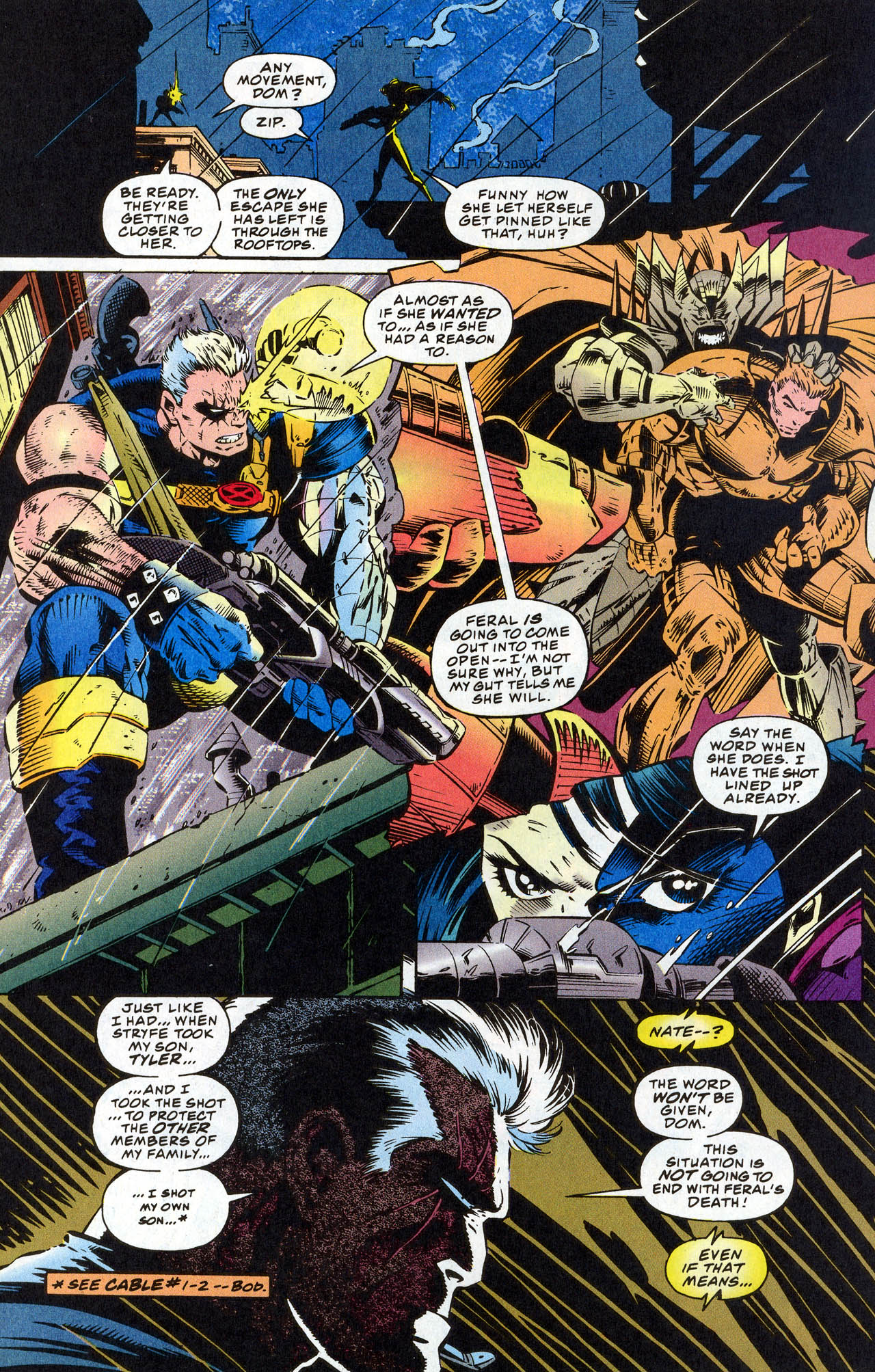 Read online X-Force (1991) comic -  Issue #41 - 16