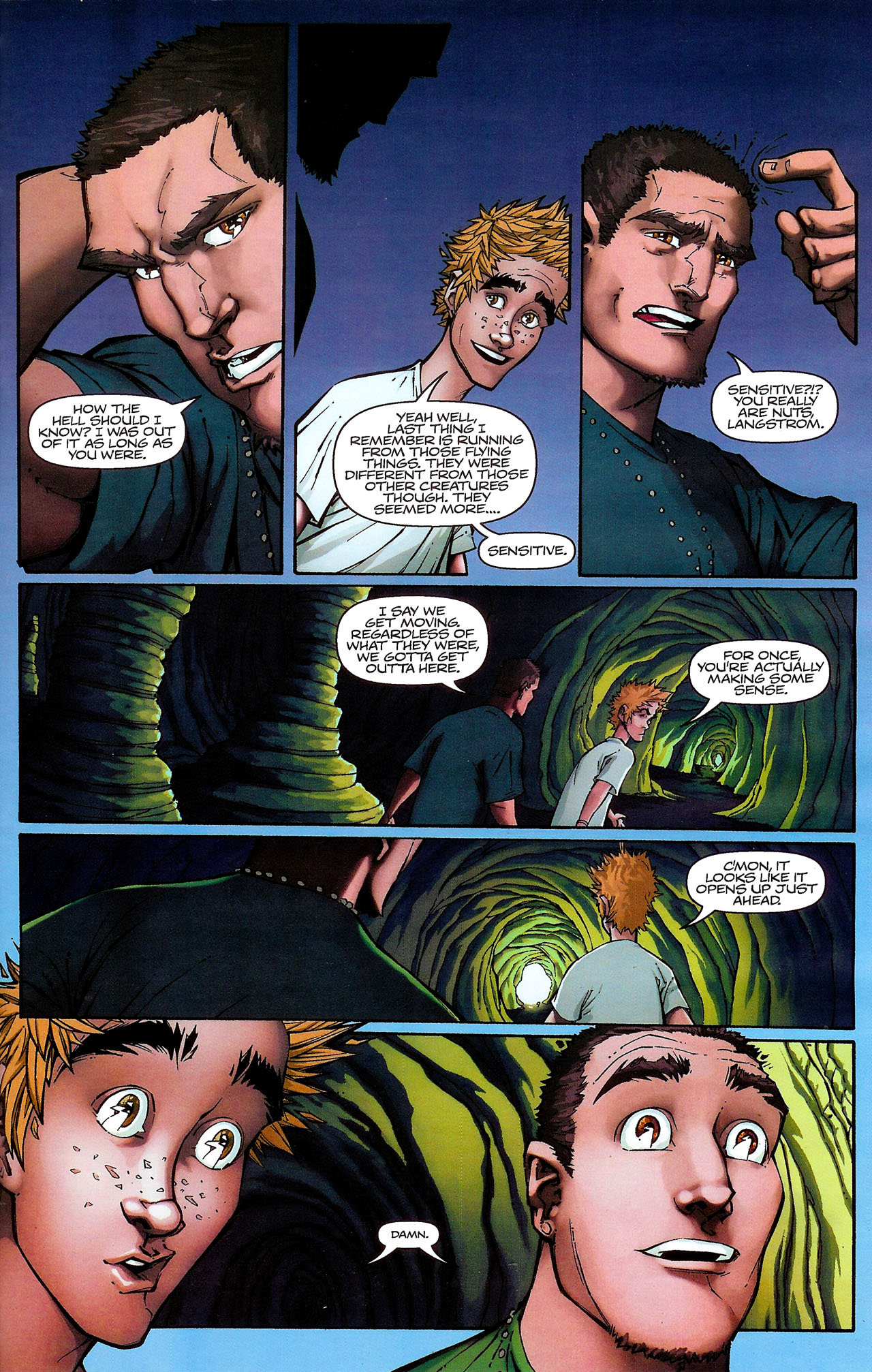 Read online Shrugged (2006) comic -  Issue #6 - 9