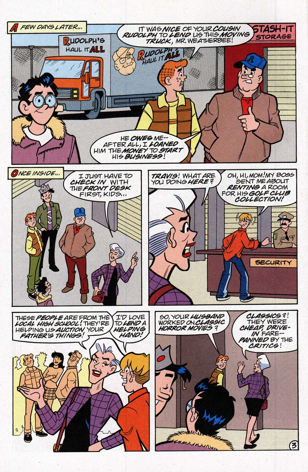 Read online Archie's Weird Mysteries comic -  Issue #27 - 5