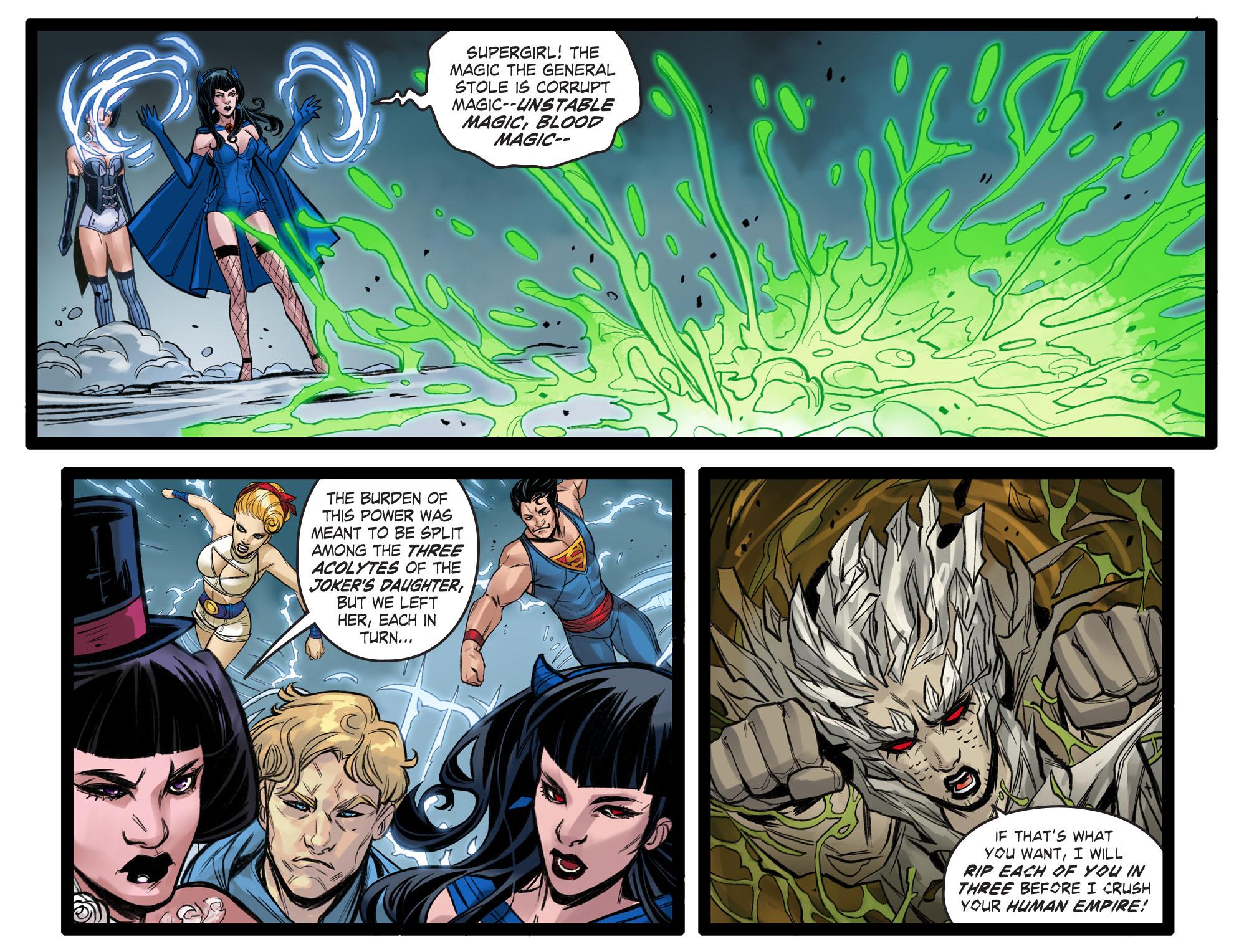 Read online DC Comics: Bombshells comic -  Issue #99 - 18