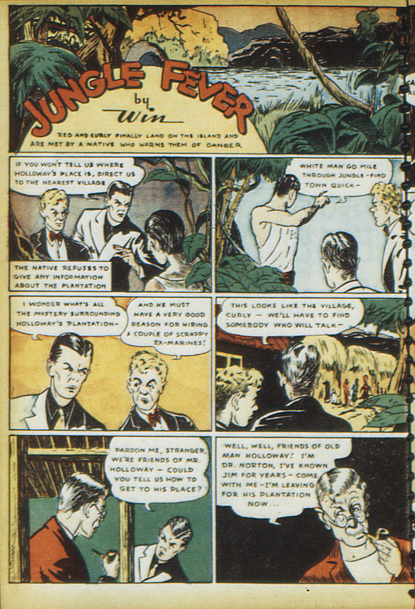 Read online Adventure Comics (1938) comic -  Issue #16 - 61