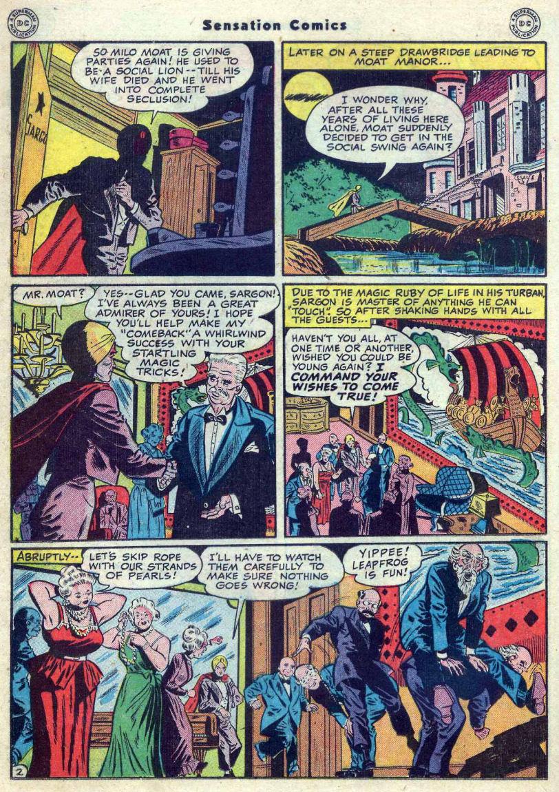 Read online Sensation (Mystery) Comics comic -  Issue #82 - 26