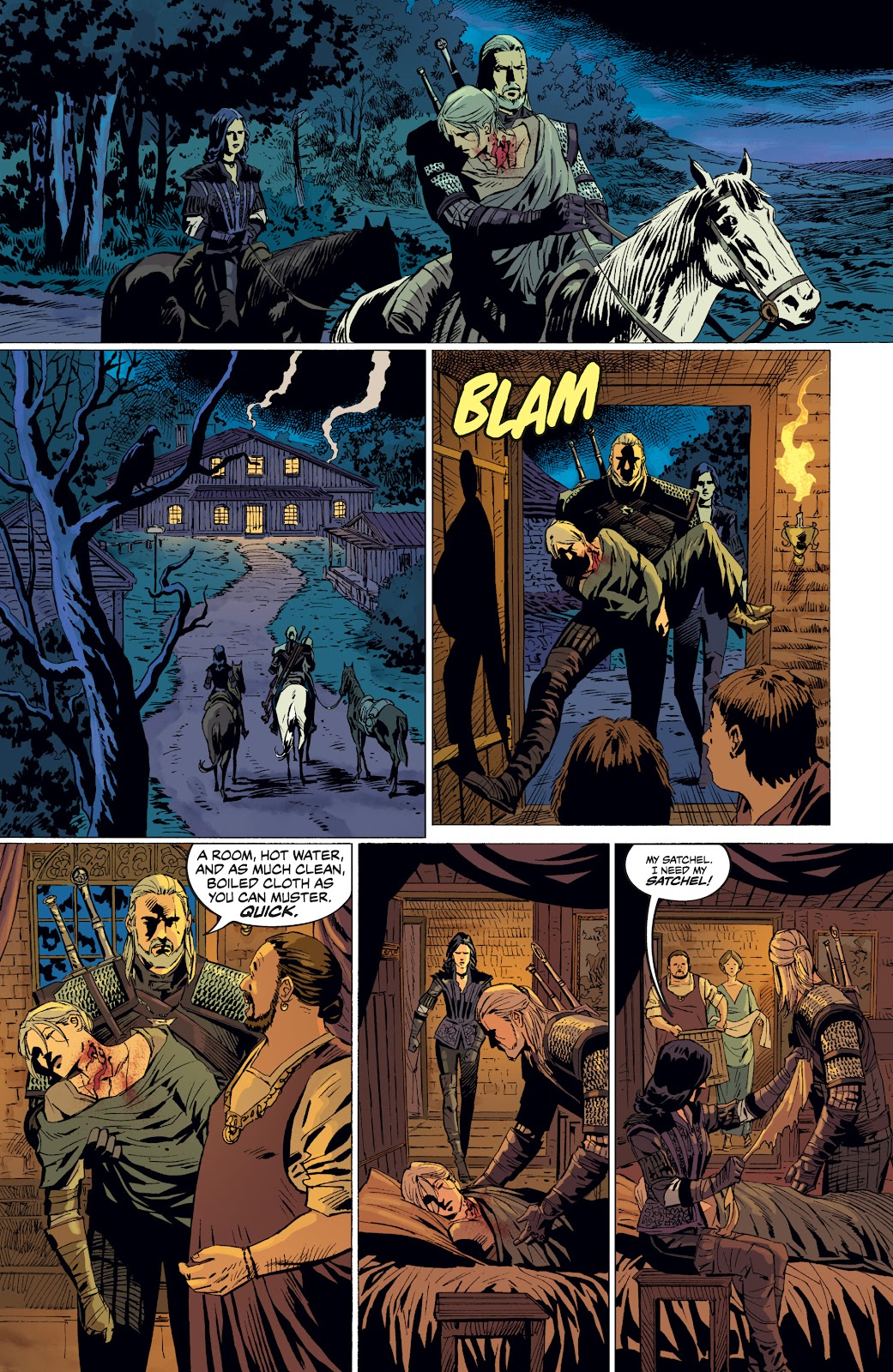 Read online The Witcher Omnibus comic -  Issue # TPB (Part 4) - 94