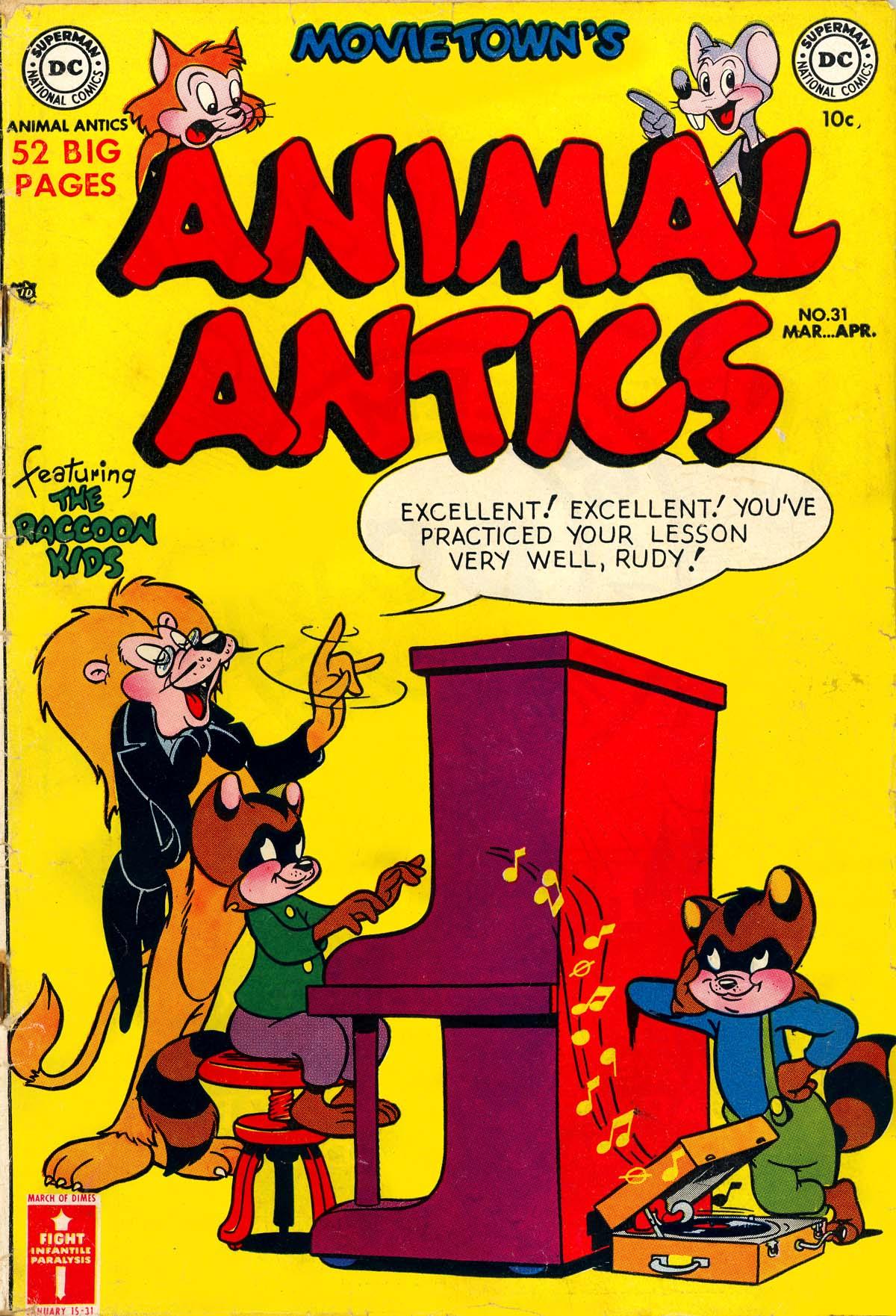 Animal Antics 31 Page 1