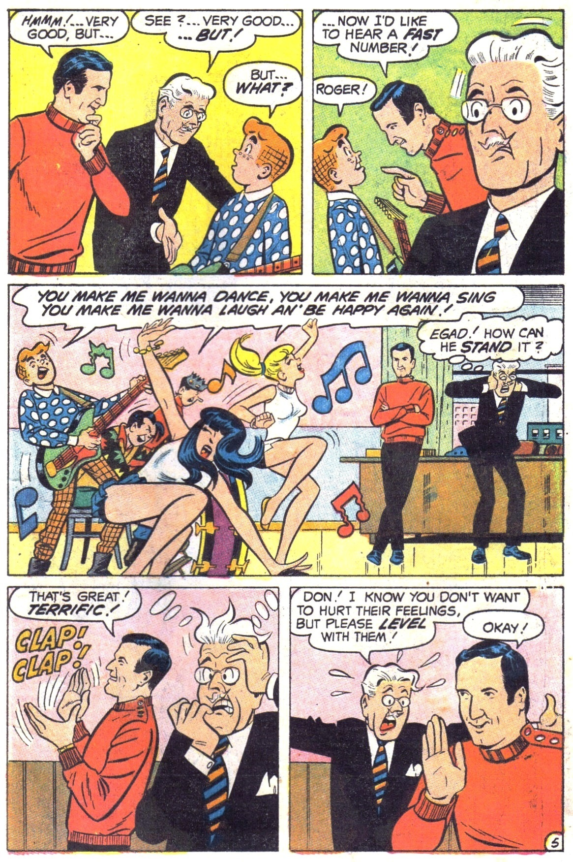 Read online Archie (1960) comic -  Issue #189 - 7