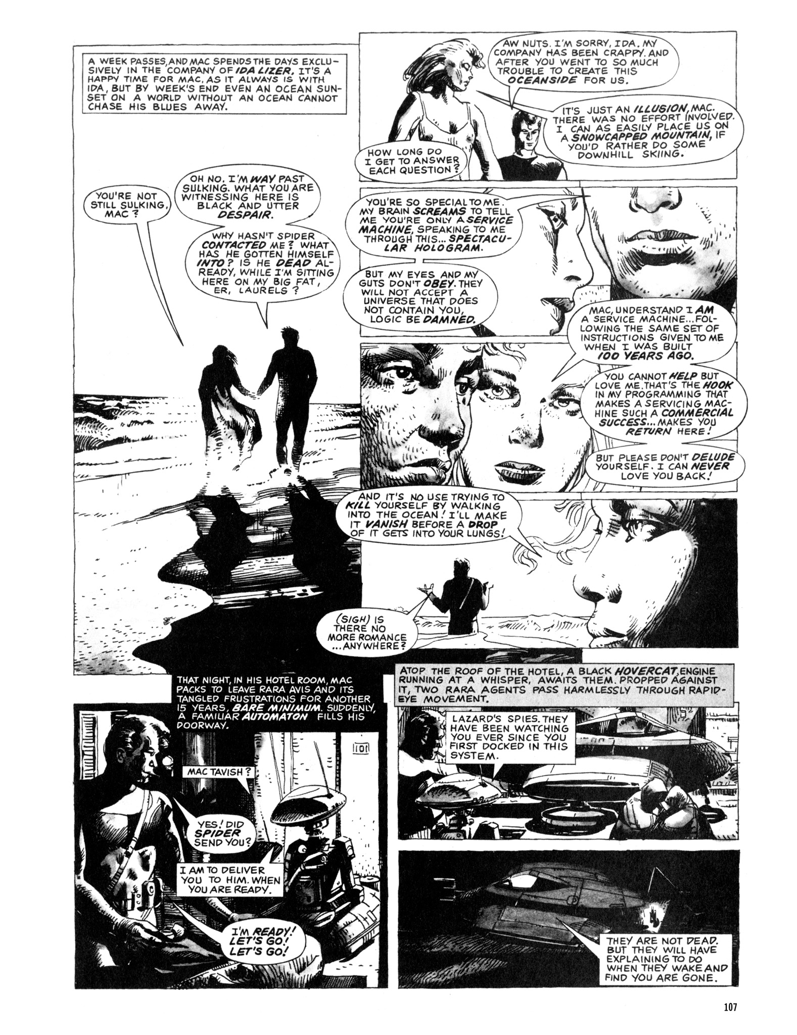 Read online Eerie Archives comic -  Issue # TPB 20 - 107