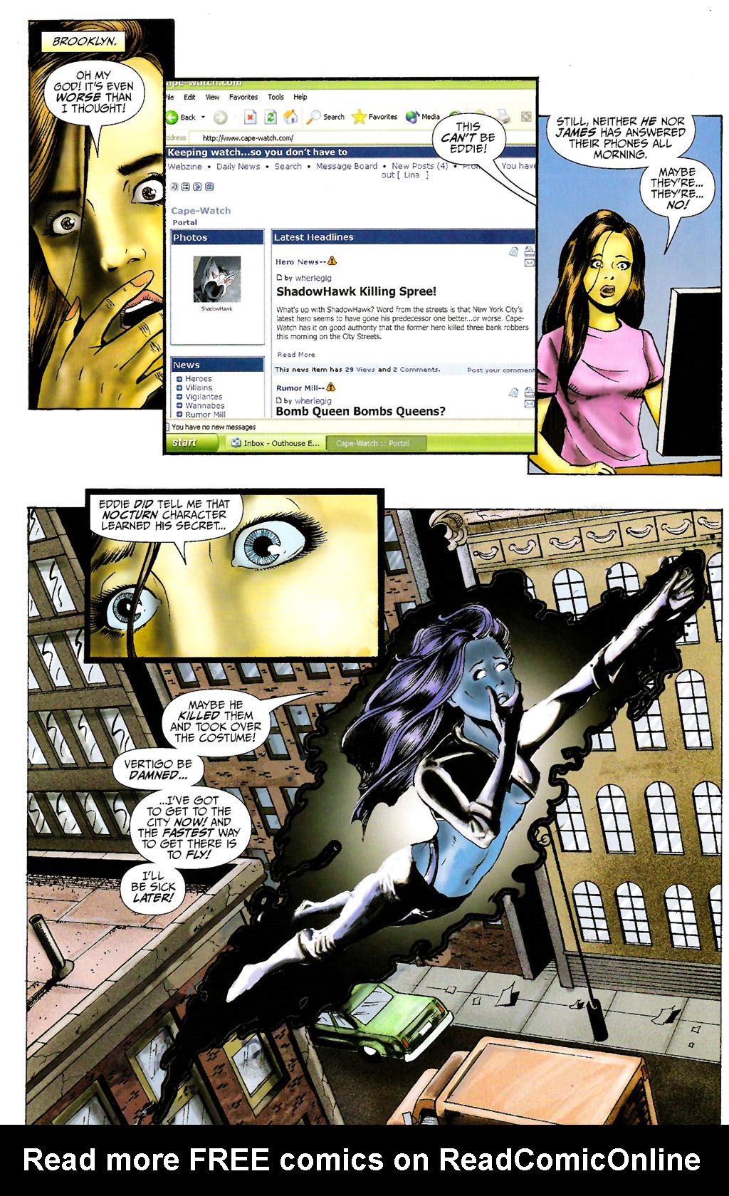 Read online ShadowHawk (2005) comic -  Issue #10 - 9
